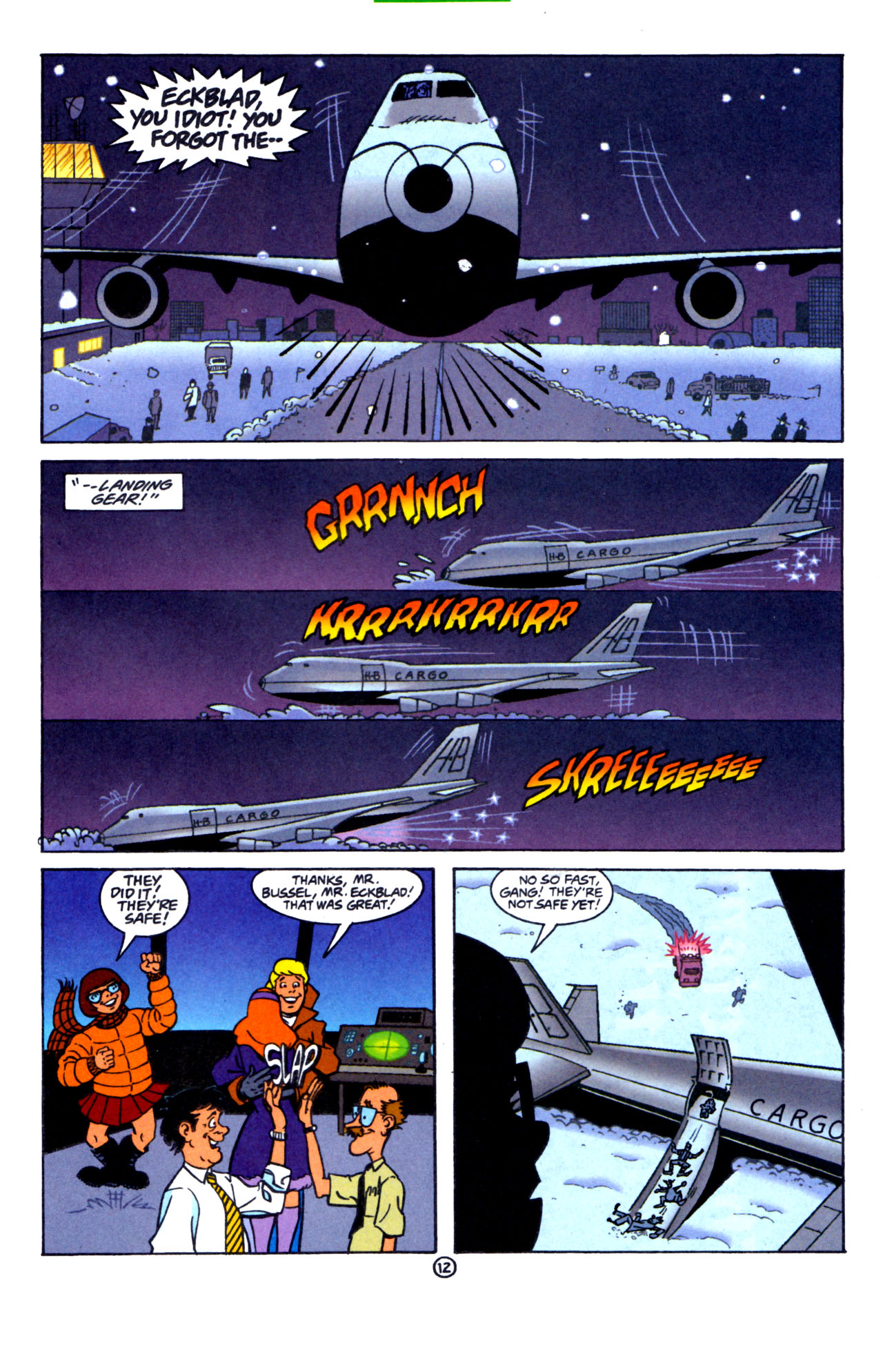 Read online Scooby-Doo (1997) comic -  Issue #7 - 13