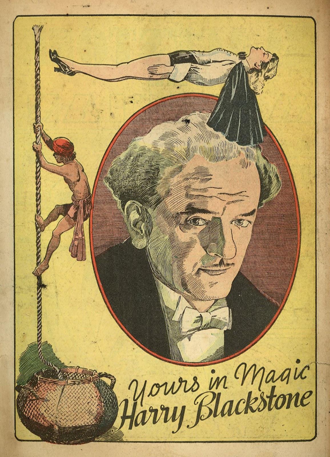 Read online Super-Magician Comics comic -  Issue #1 - 3