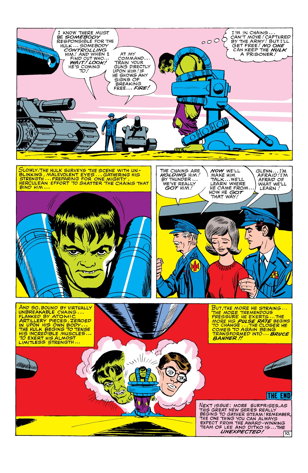 Read online Marvel Masterworks: The Incredible Hulk comic -  Issue # TPB 2 (Part 1) - 44