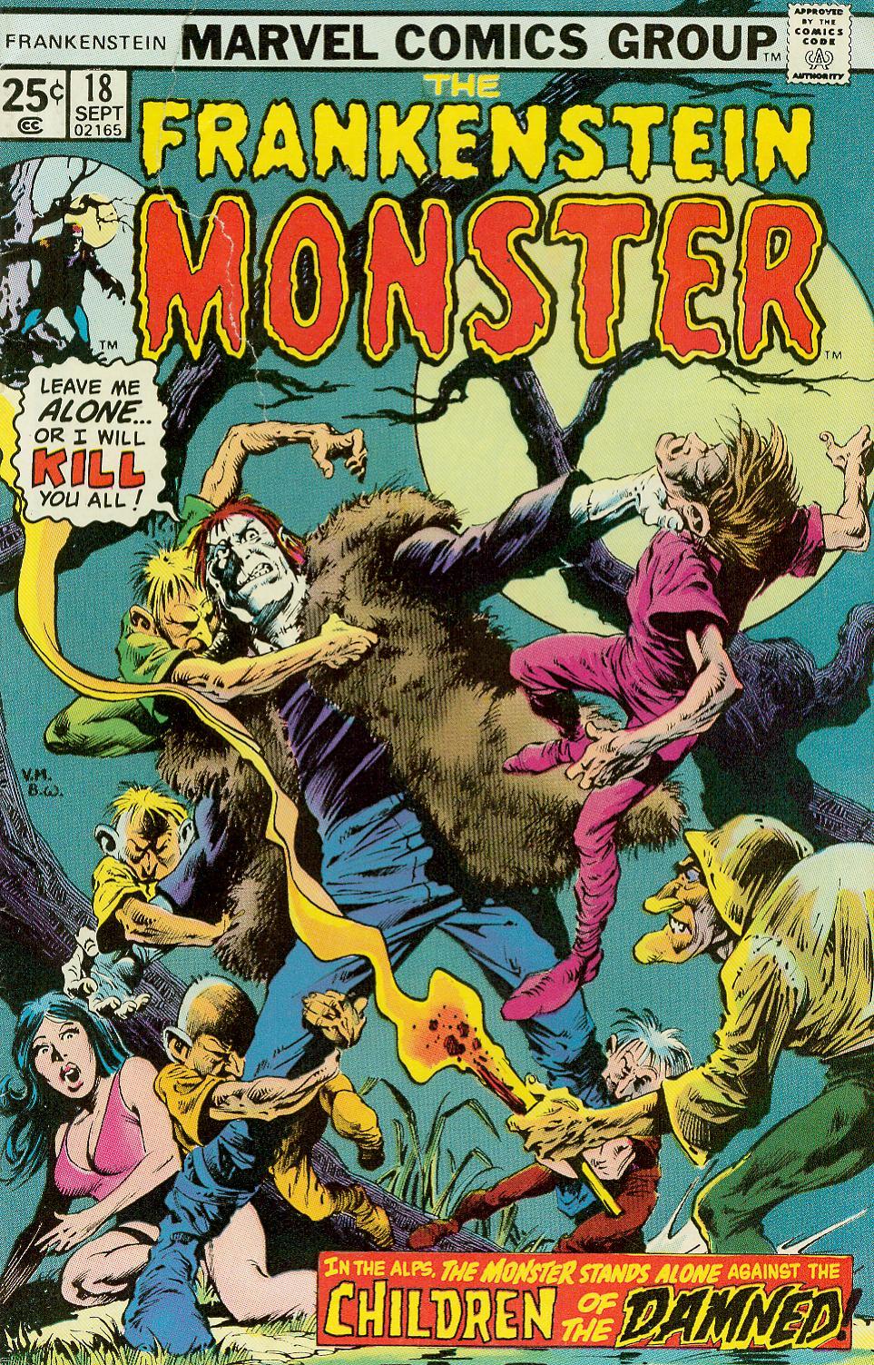 Frankenstein (1973) 18 Page 1