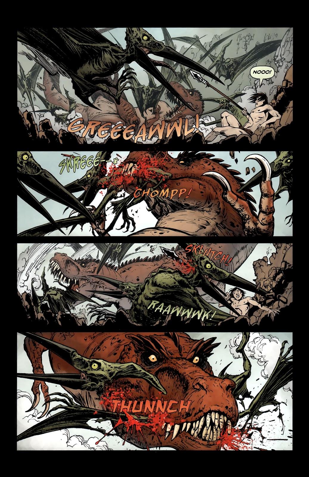 Read online Tyrannosaurus Rex comic -  Issue # Full - 13