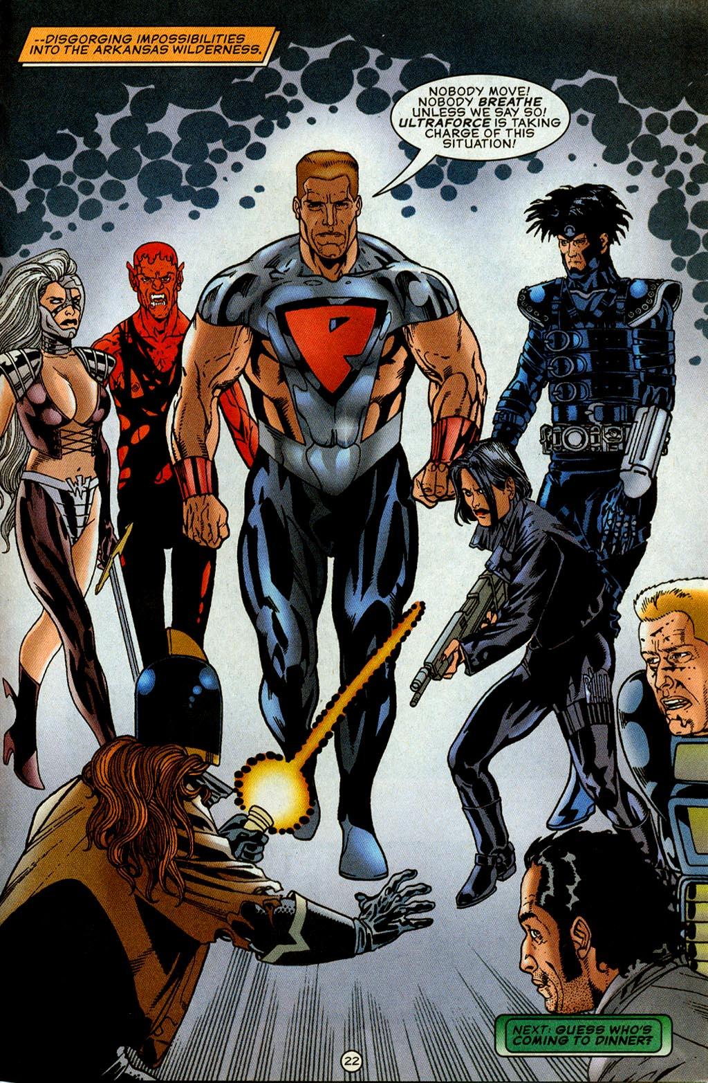 Read online UltraForce (1995) comic -  Issue #8 - 23