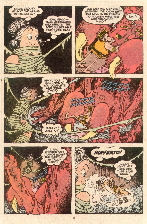 Read online Sergio Aragonés Groo the Wanderer comic -  Issue #52 - 17