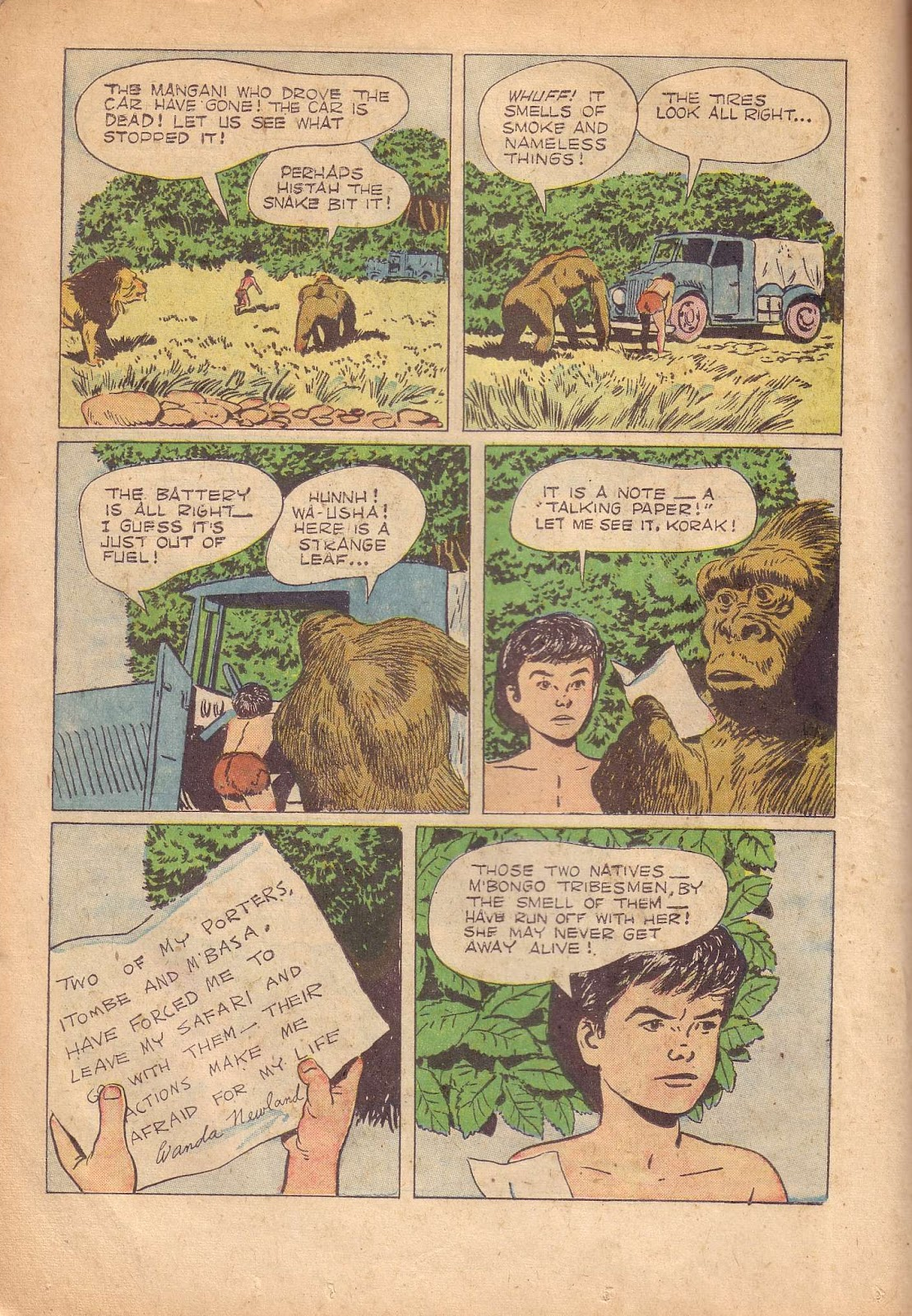 Tarzan (1948) issue 50 - Page 22