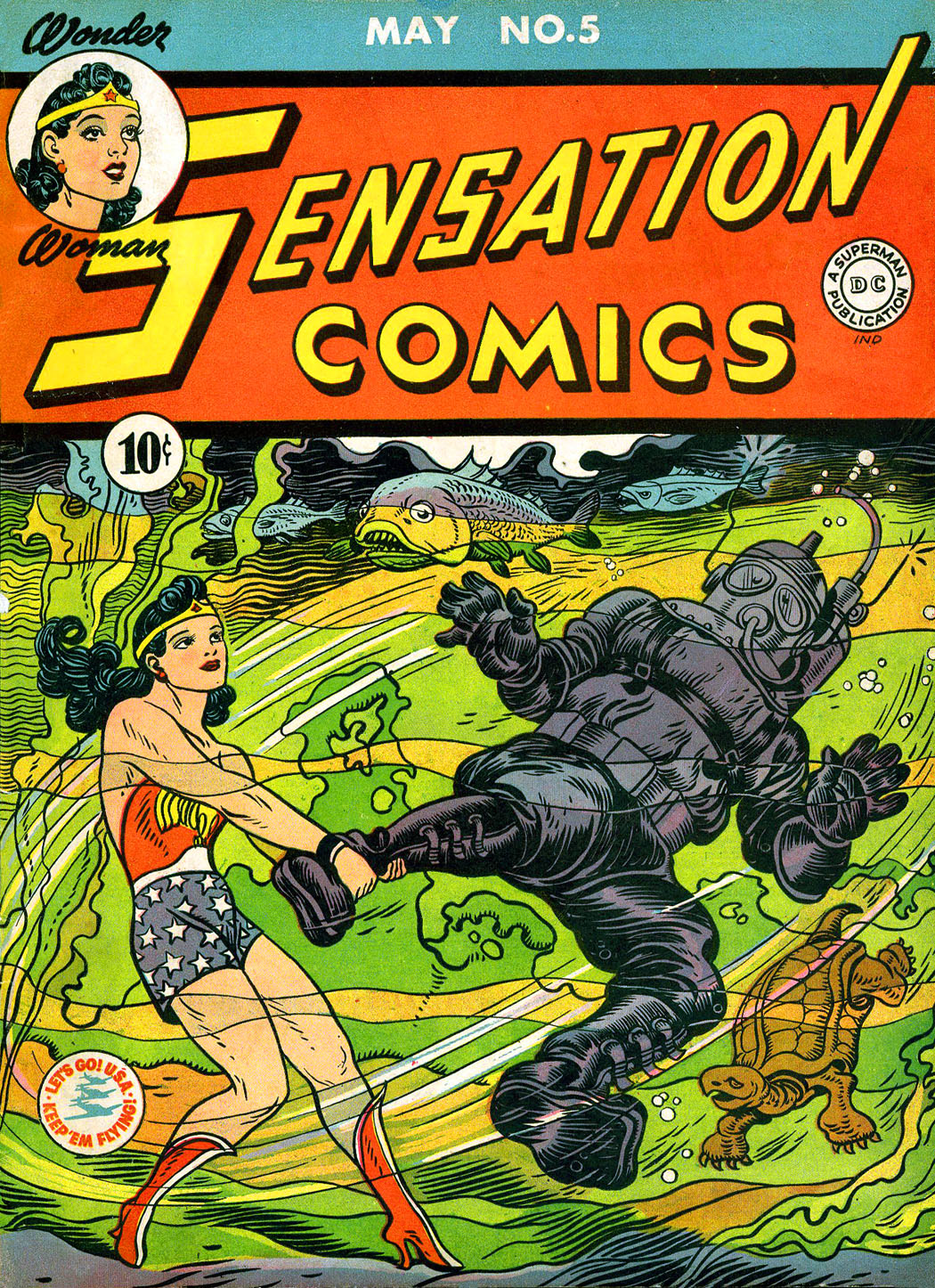 Read online Sensation (Mystery) Comics comic -  Issue #5 - 1