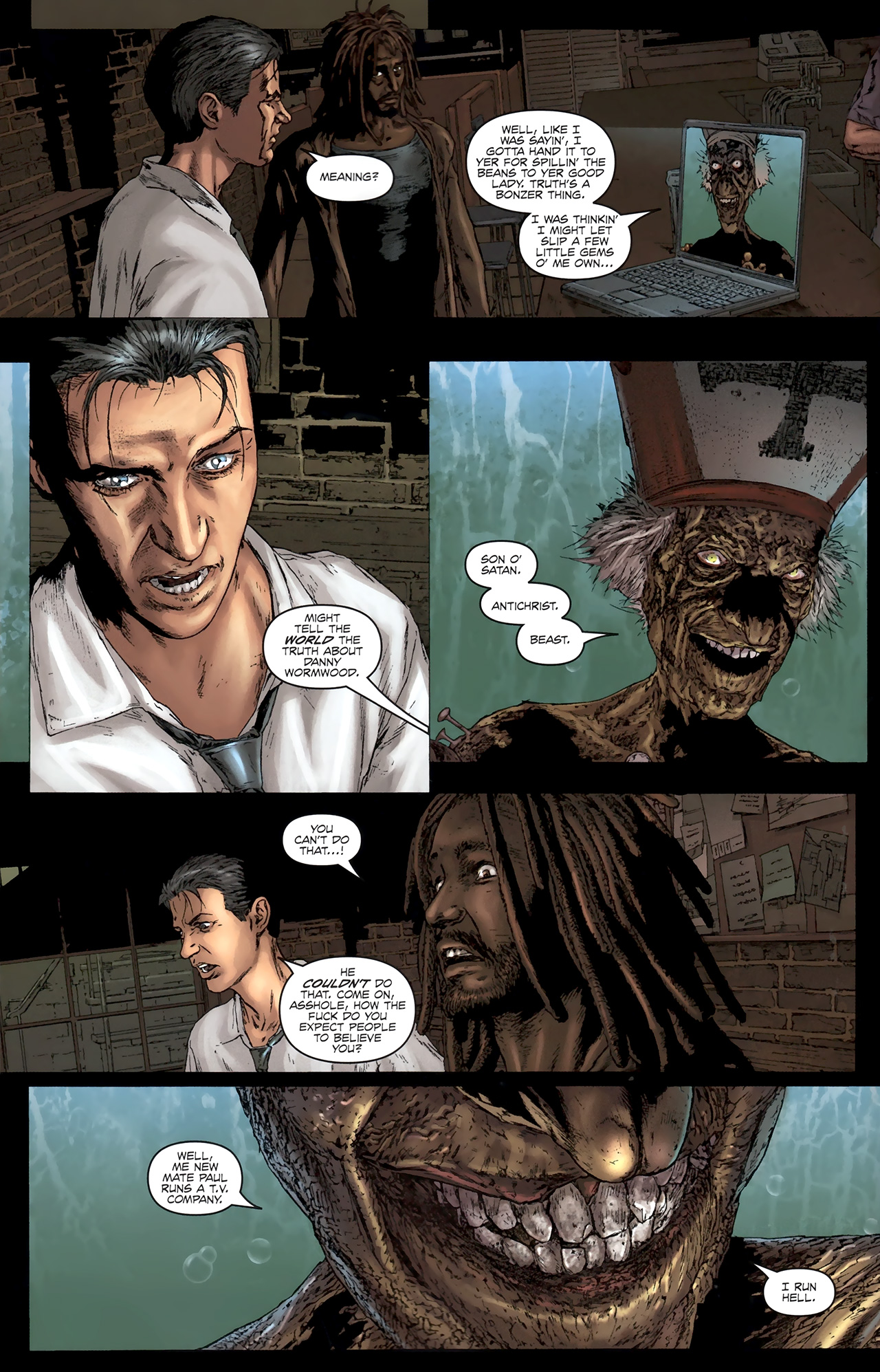Read online Chronicles of Wormwood: The Last Battle comic -  Issue #5 - 15