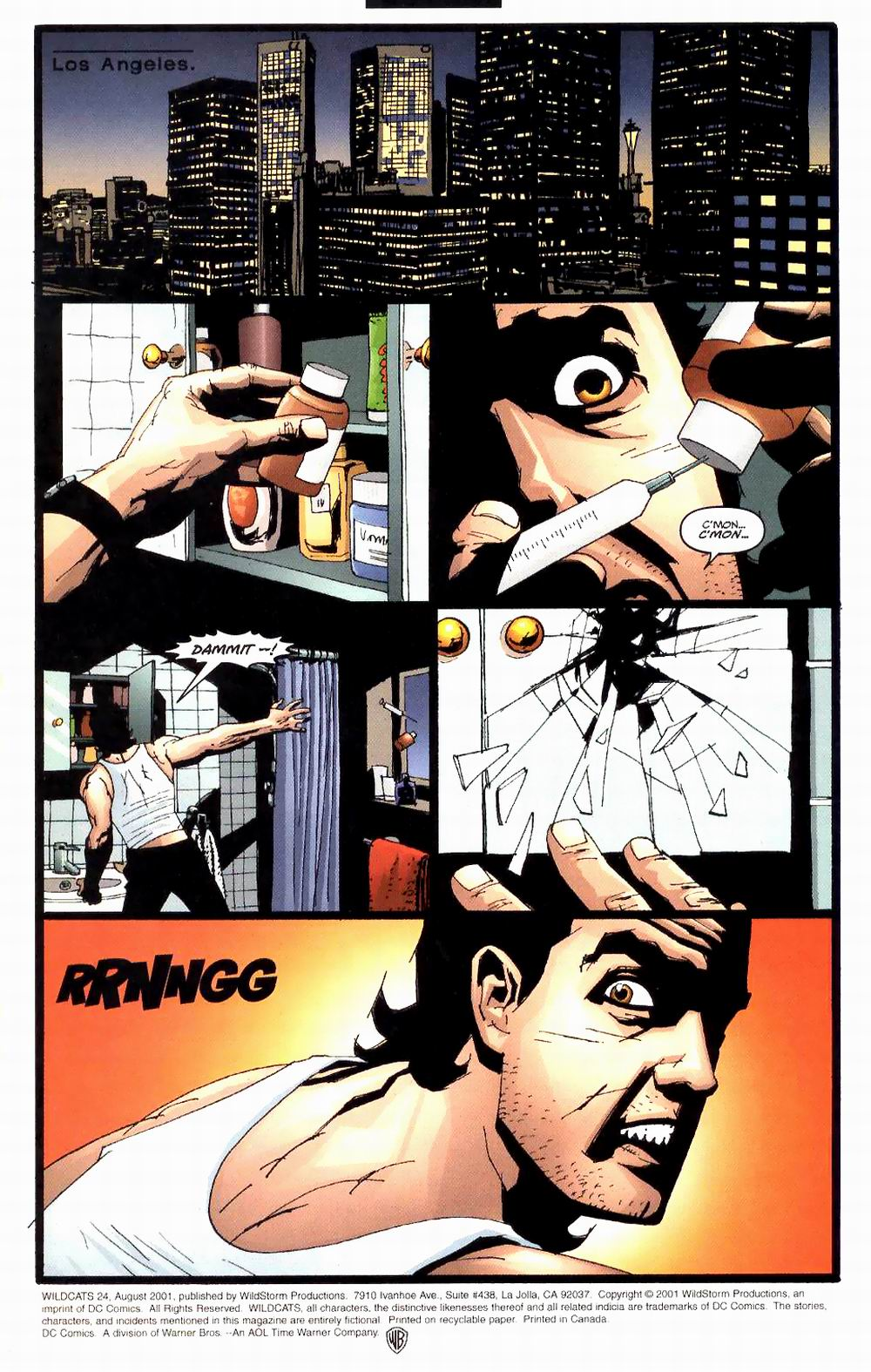 Wildcats (1999) Issue #24 #25 - English 5