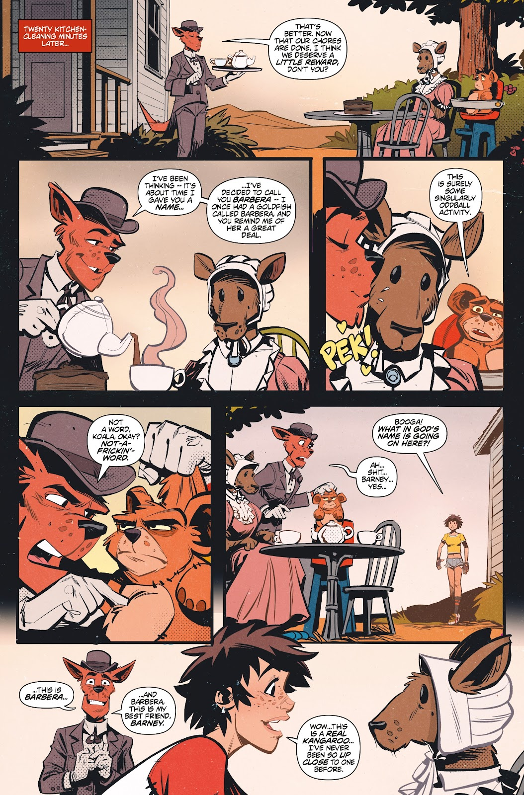 Read online Tank Girl Ongoing comic -  Issue #1 - 17