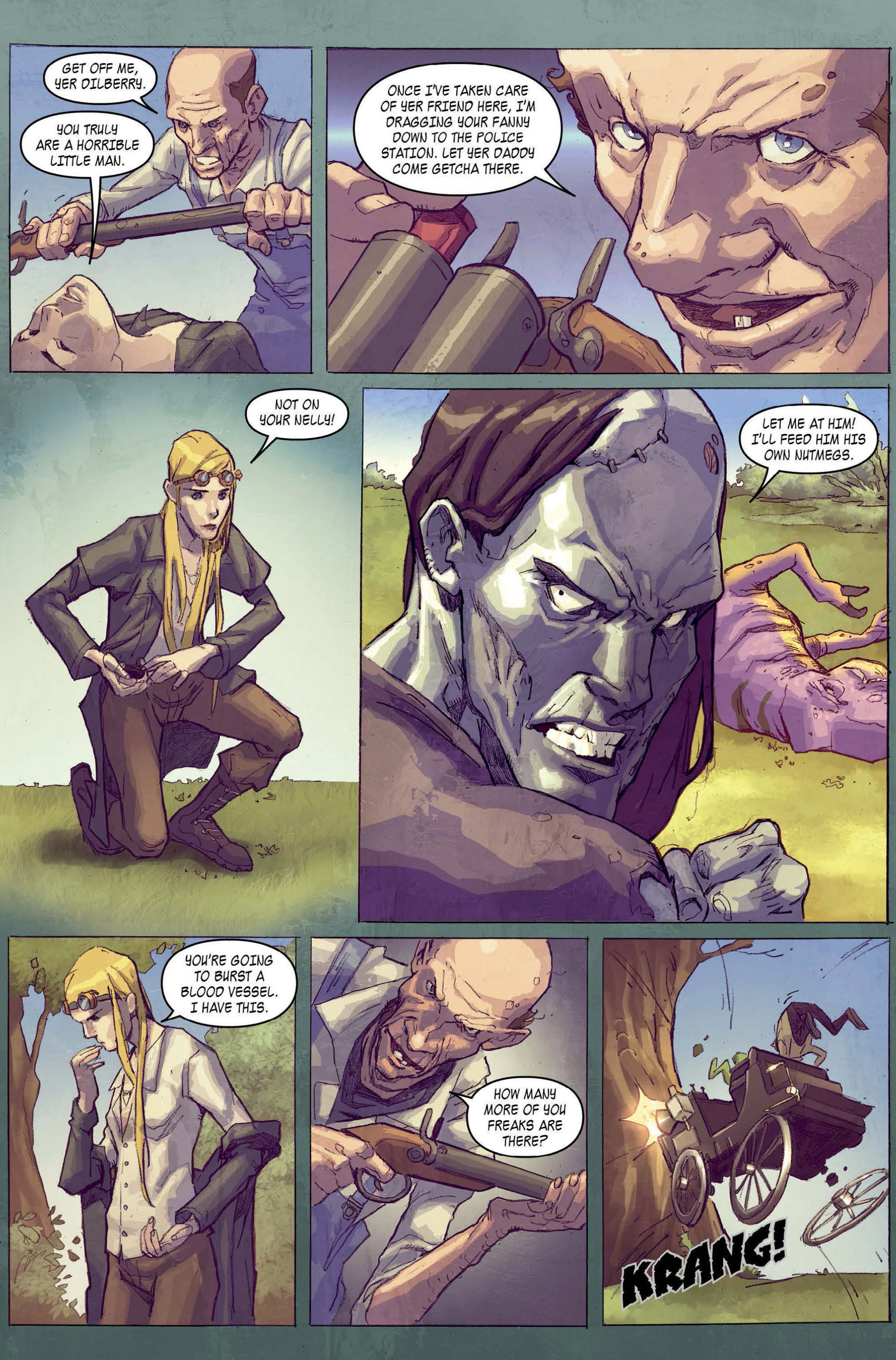 Read online A1 comic -  Issue #5 - 6