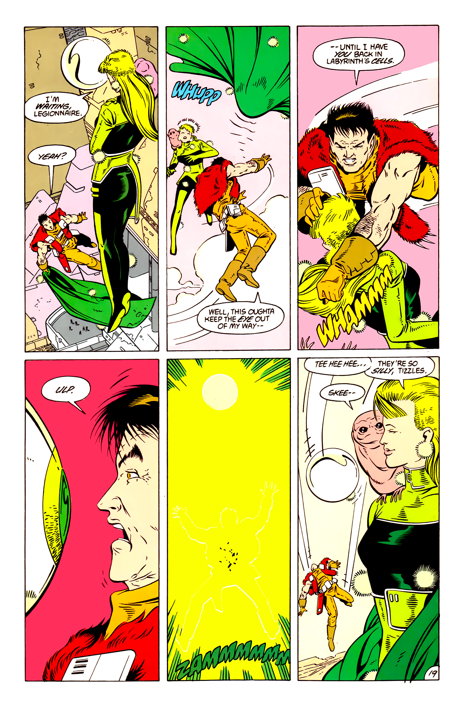 Legion of Super-Heroes (1984) 57 Page 19