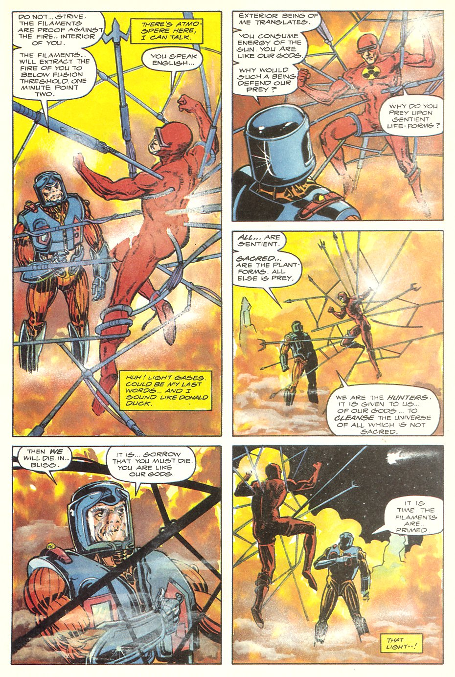 Read online Solar, Man of the Atom comic -  Issue #7 - 32