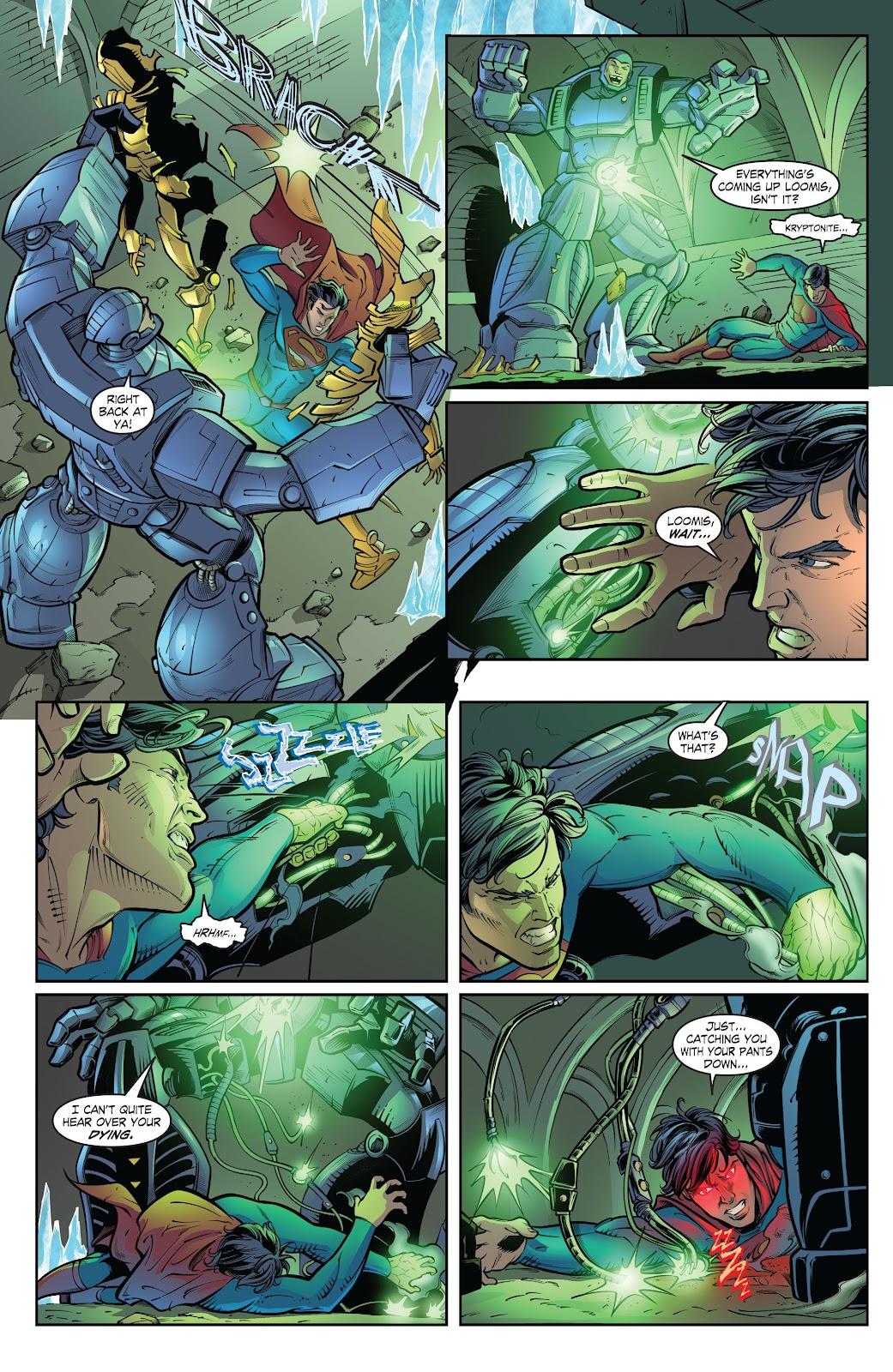 Read online Smallville Season 11 [II] comic -  Issue # TPB 2 - 120