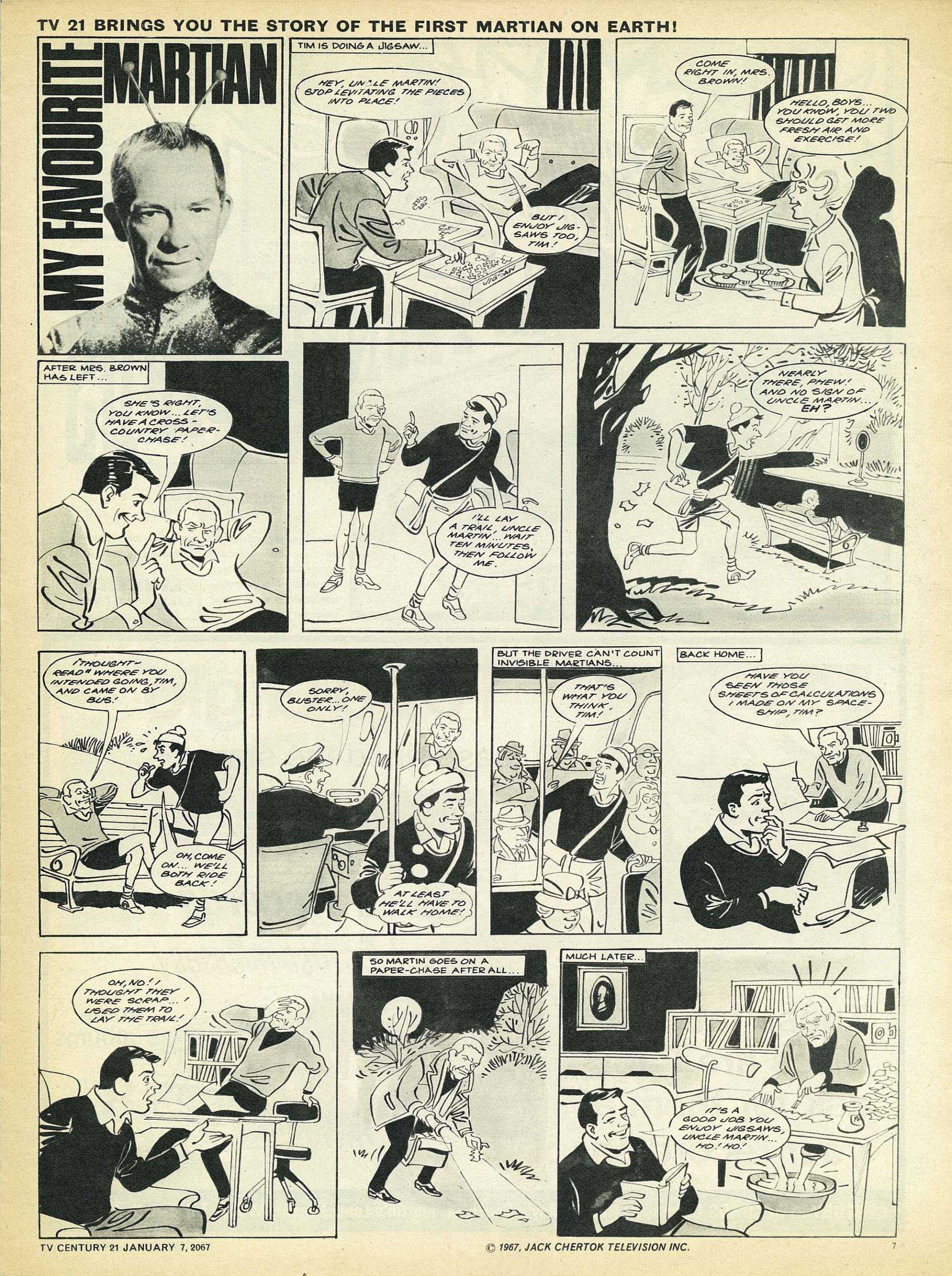 Read online TV Century 21 (TV 21) comic -  Issue #103 - 7