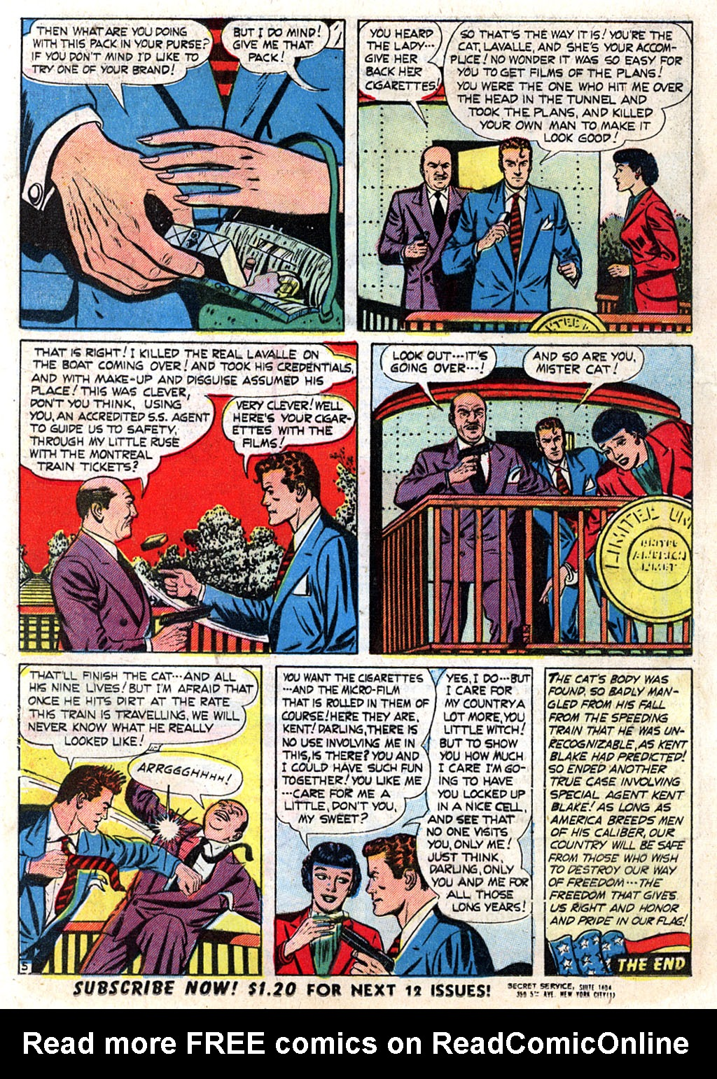 Kent Blake of the Secret Service issue 3 - Page 16