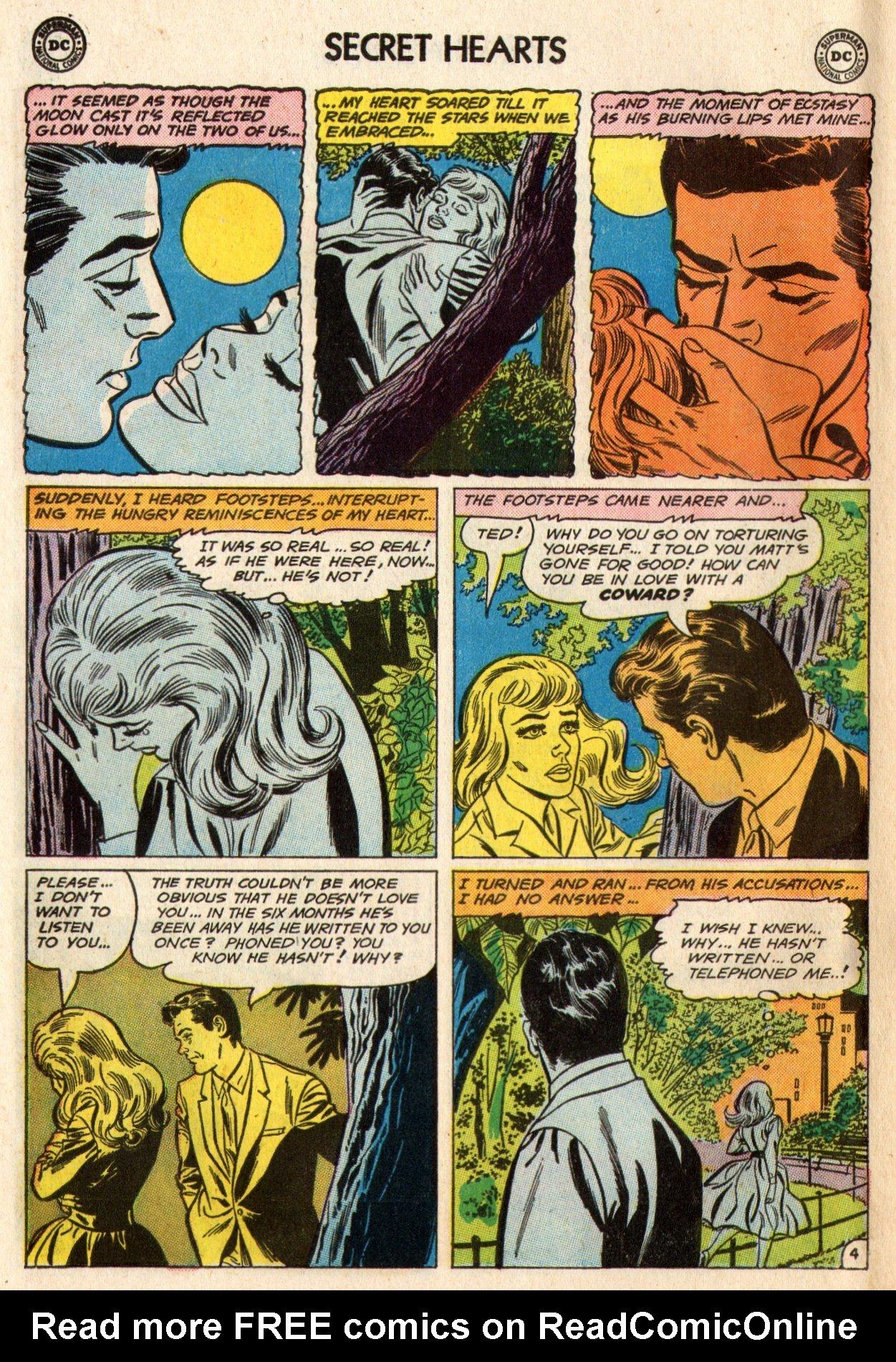 Read online Secret Hearts comic -  Issue #95 - 30