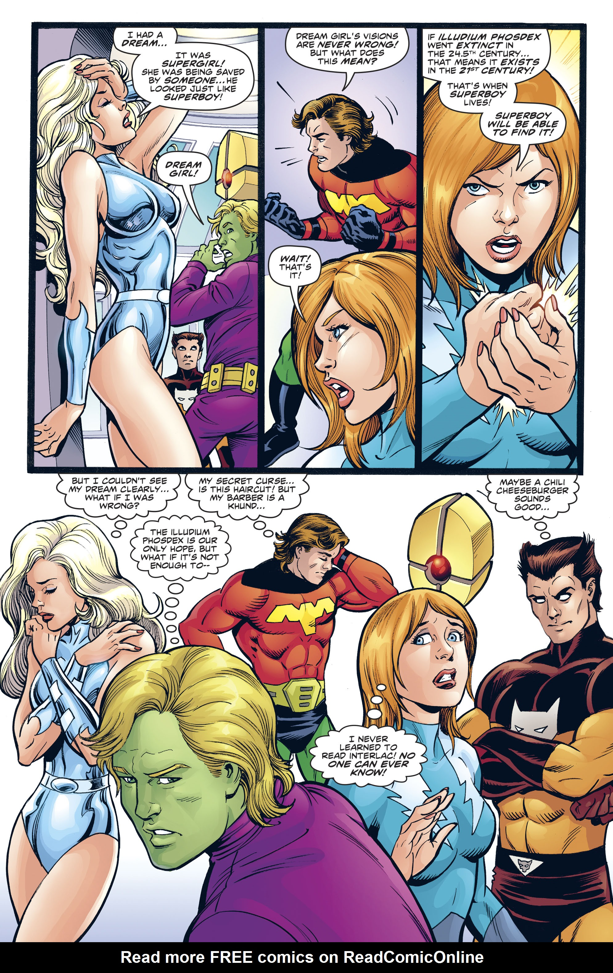 Read online Legion of Super-Heroes/Bugs Bunny Special comic -  Issue # Full - 7