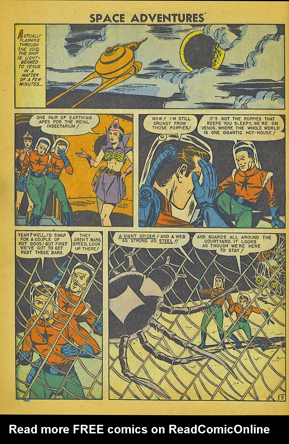 Space Adventures (1952) issue 3 - Page 11