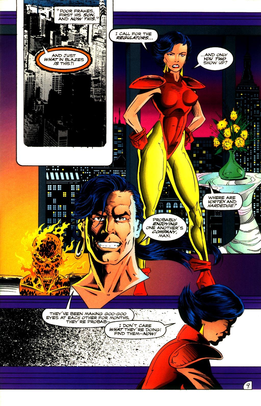 Read online ShadowHawk comic -  Issue #8 - 9