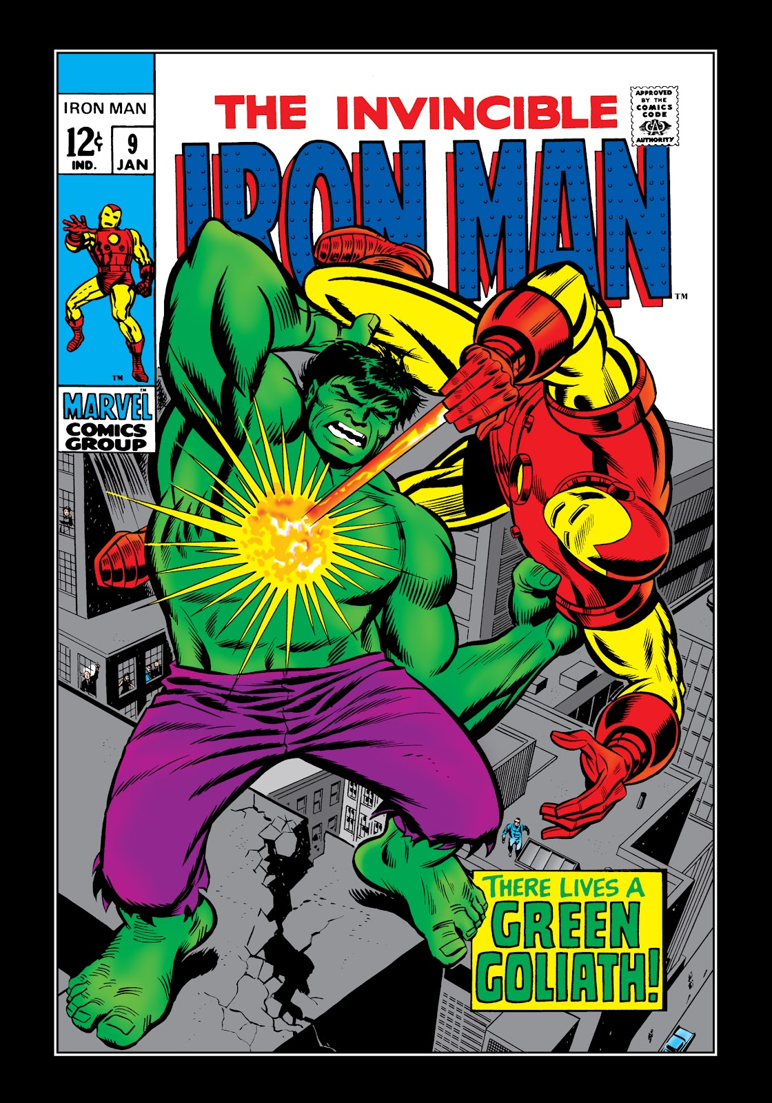 Read online Marvel Masterworks: The Invincible Iron Man comic -  Issue # TPB 5 (Part 2) - 54