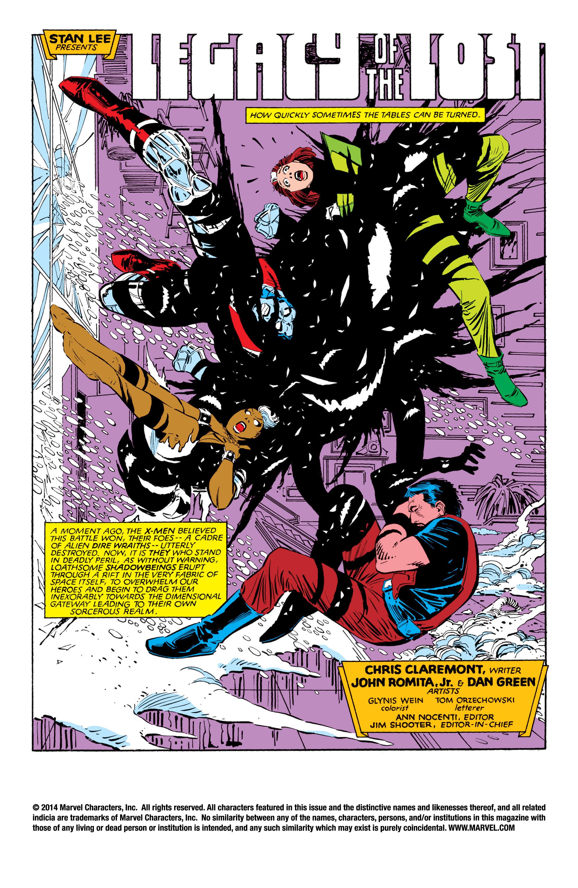 Read online Uncanny X-Men (1963) comic -  Issue #188 - 2