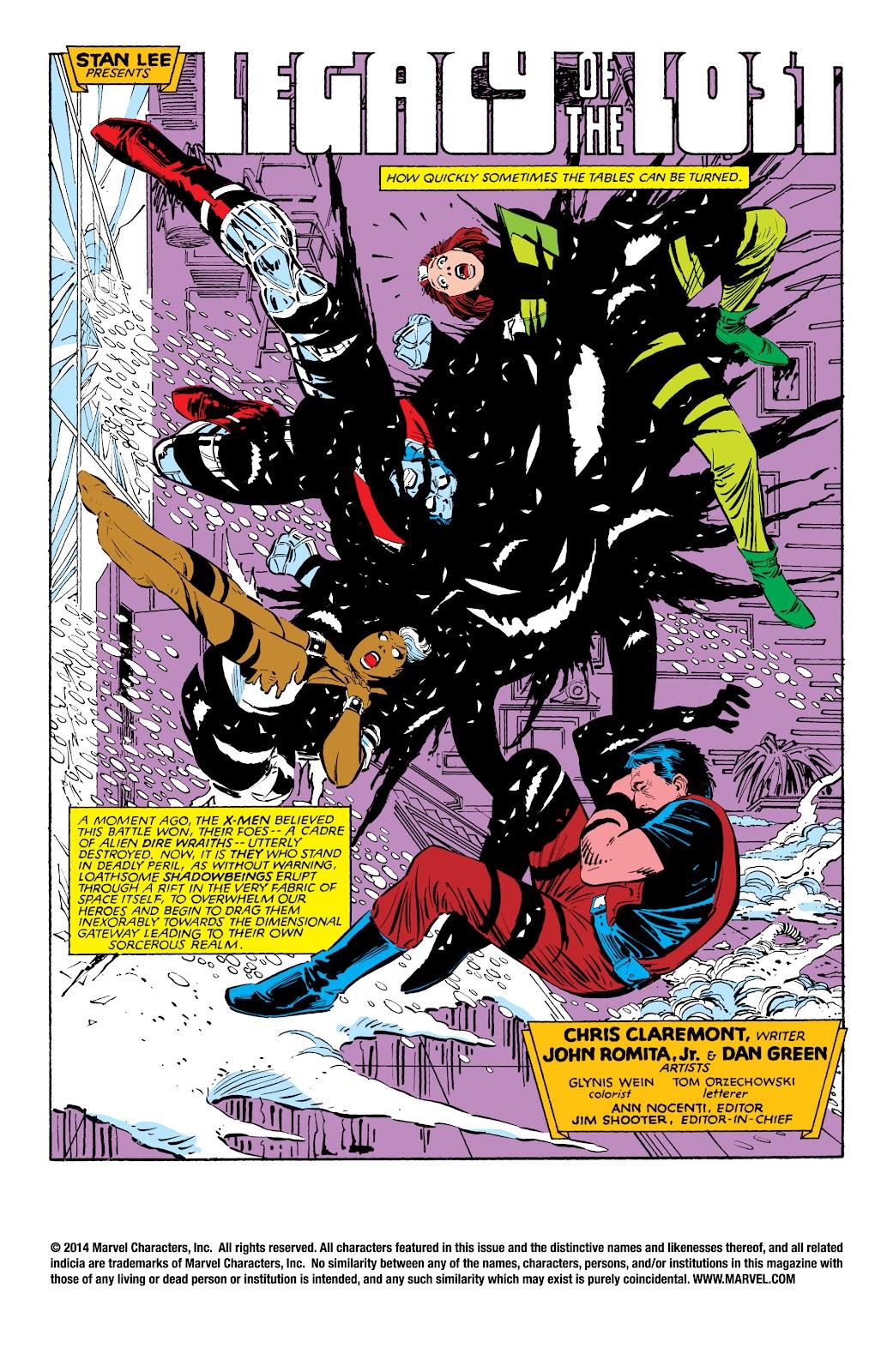 Uncanny X-Men (1963) issue 188 - Page 2