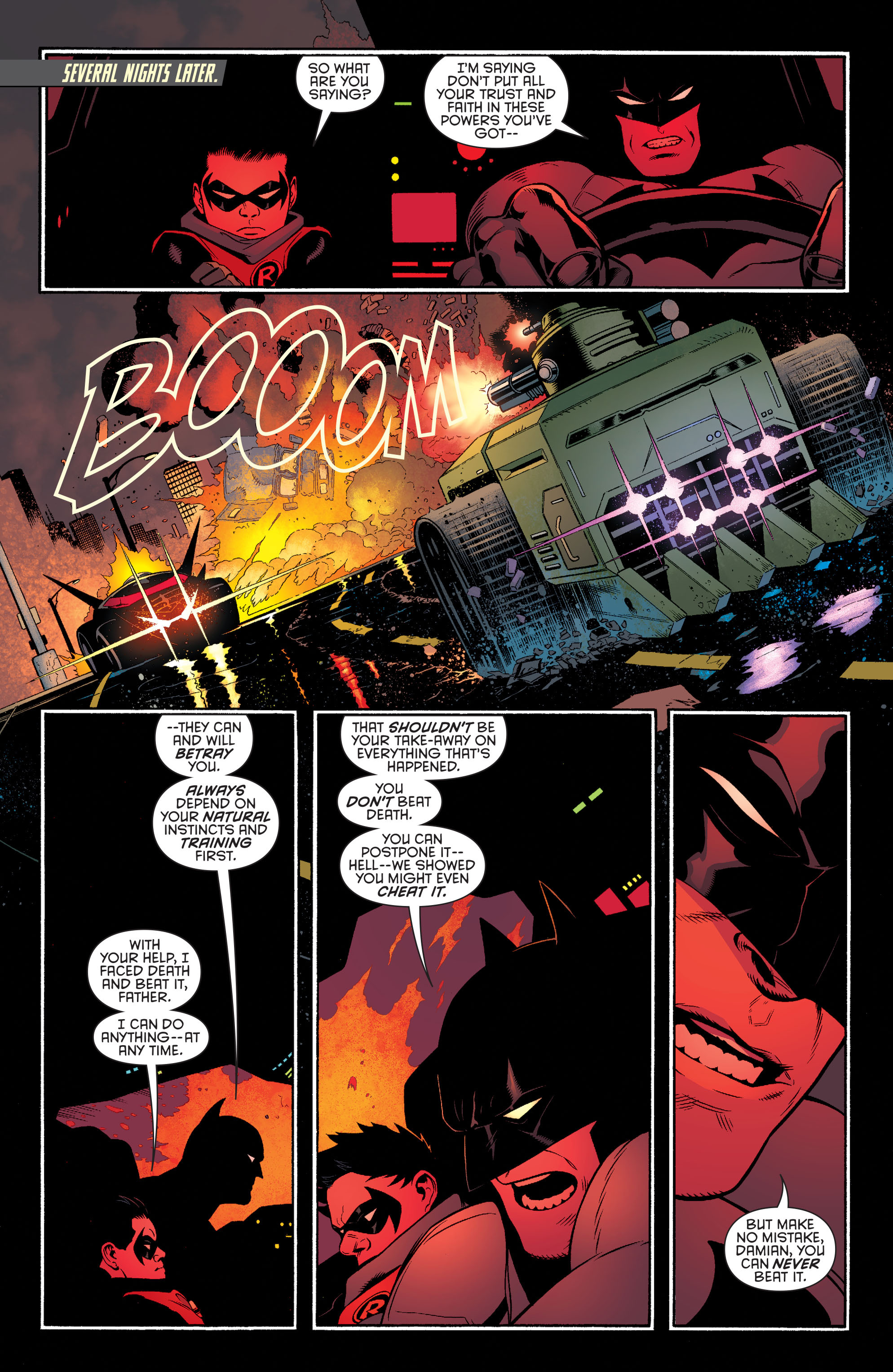 Read online Batman and Robin (2011) comic -  Issue #39 - 12