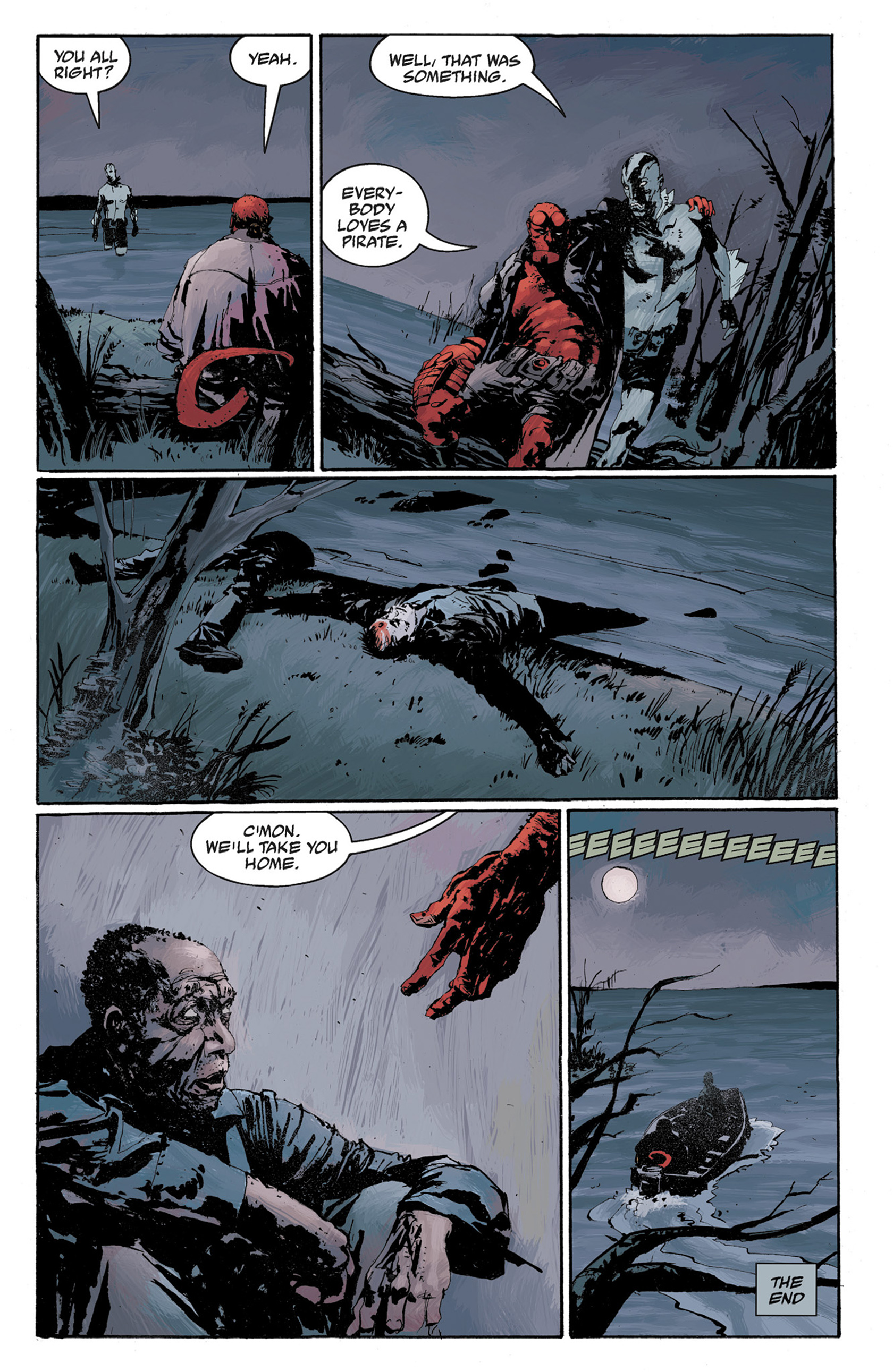 Read online Hellboy: The Crooked Man and Others comic -  Issue # TPB - 107