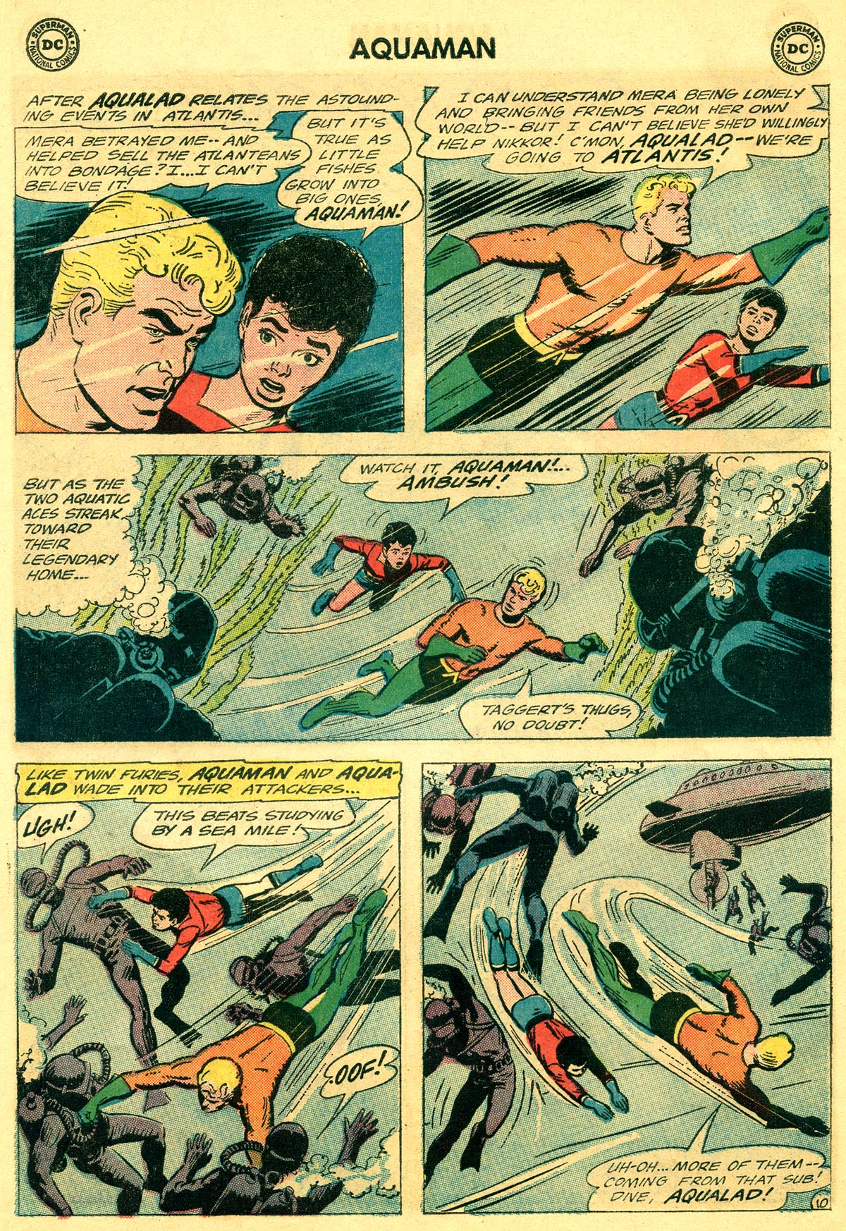 Read online Aquaman (1962) comic -  Issue #19 - 14