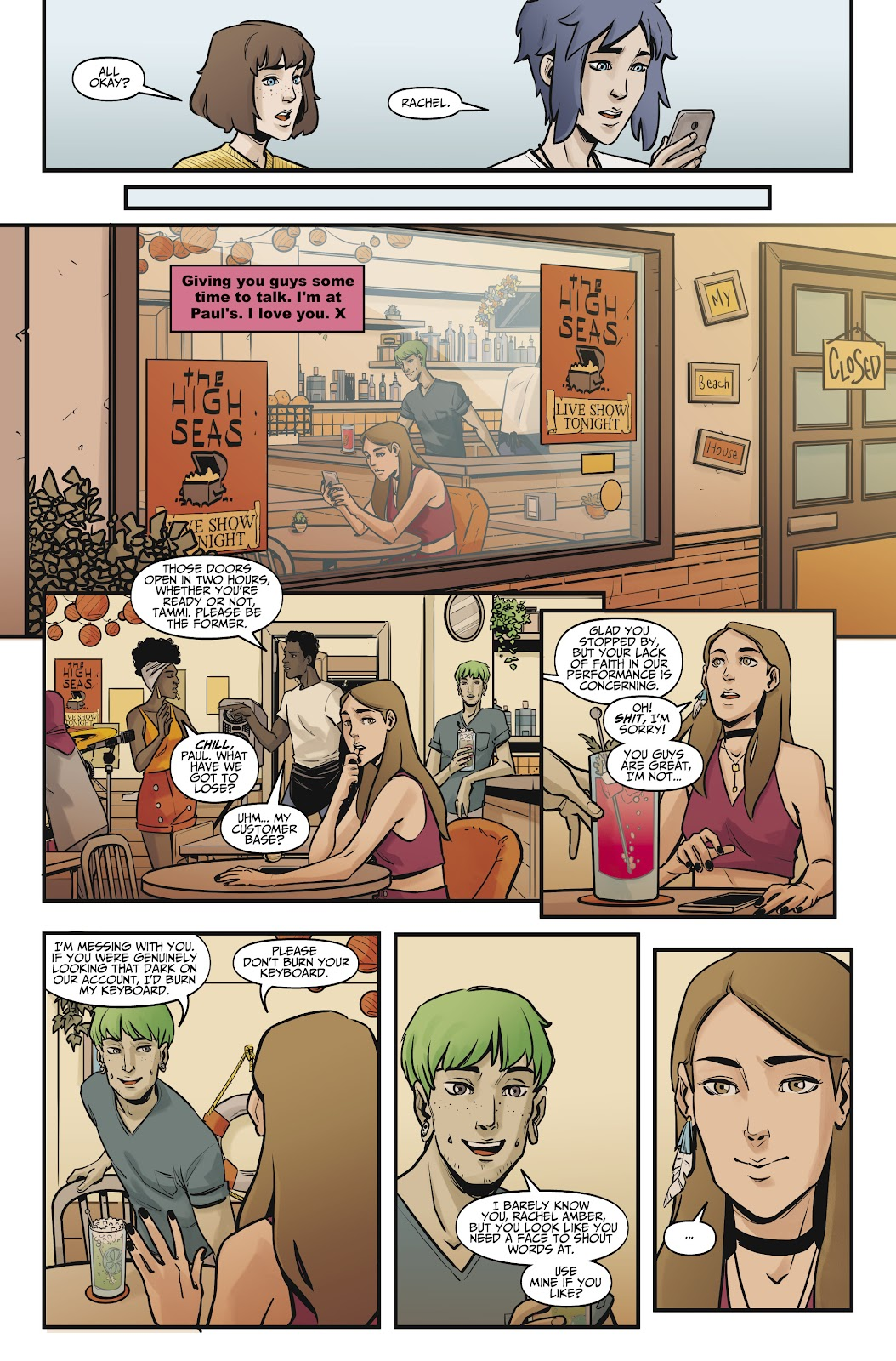 Read online Life is Strange comic -  Issue #9 - 25