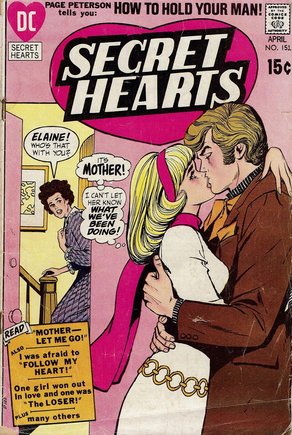 Read online Secret Hearts comic -  Issue #151 - 1