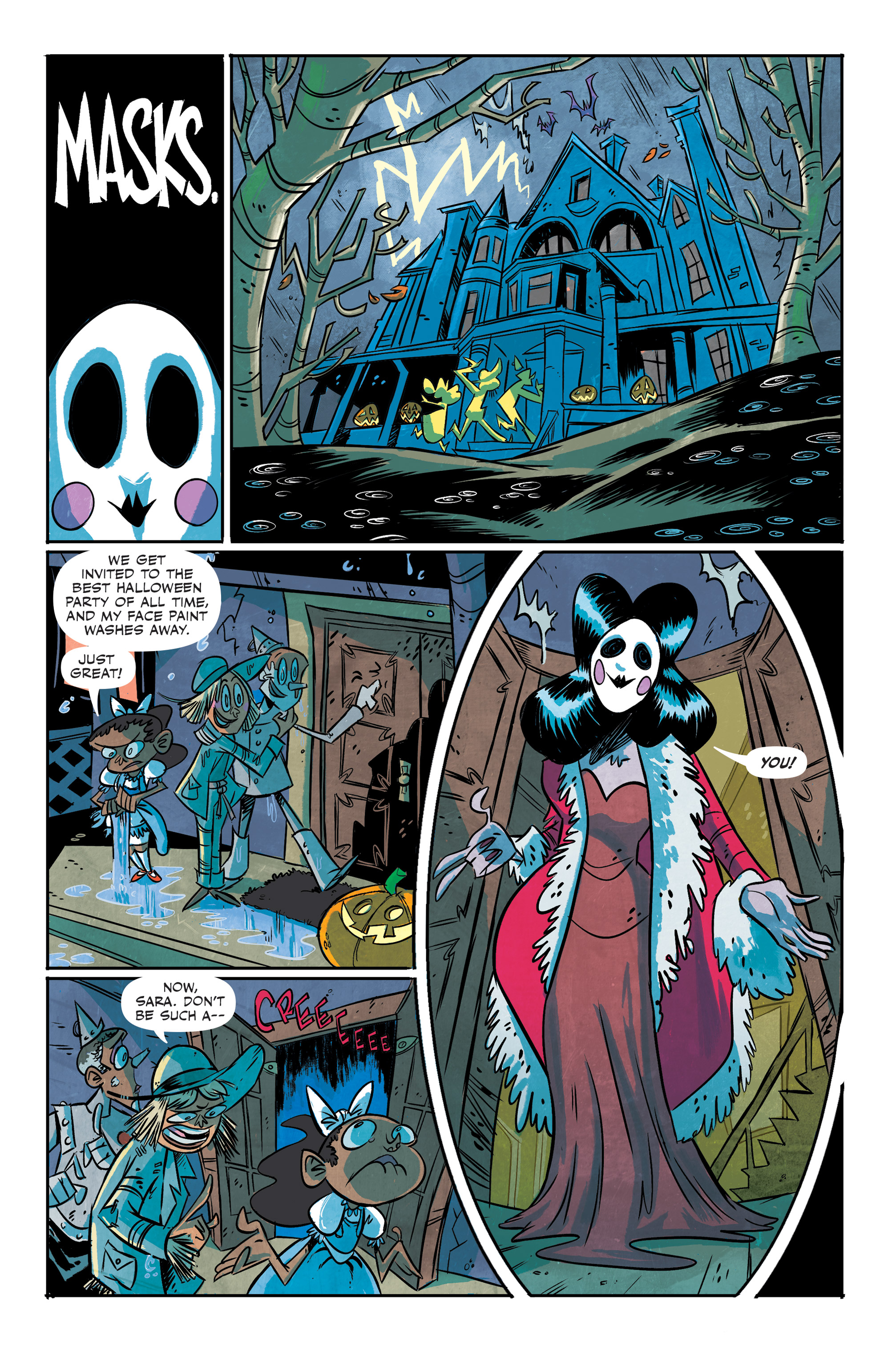 Read online Spook House comic -  Issue #5 - 9