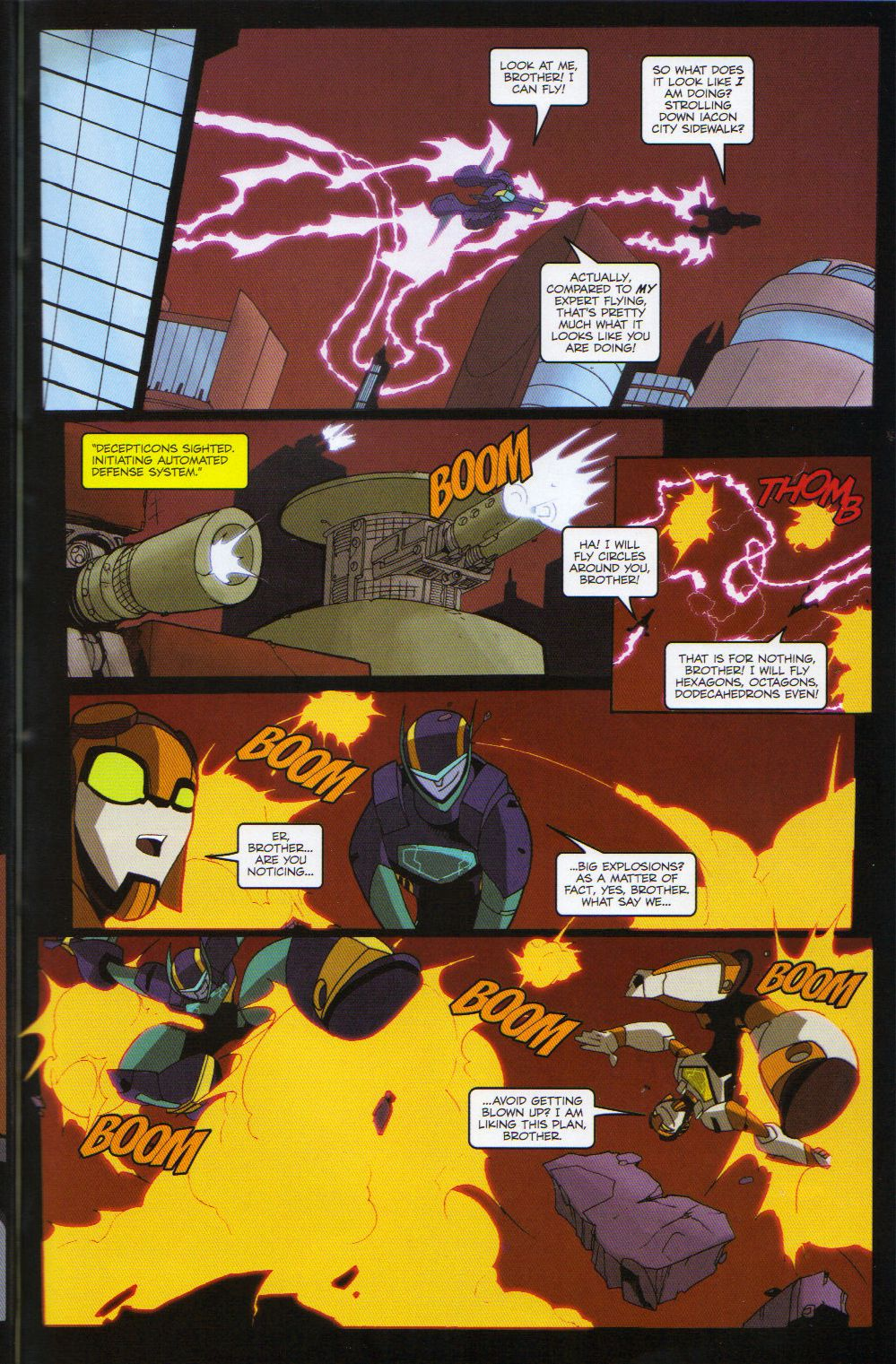 Read online Transformers Animated: The Arrival comic -  Issue #6 - 13