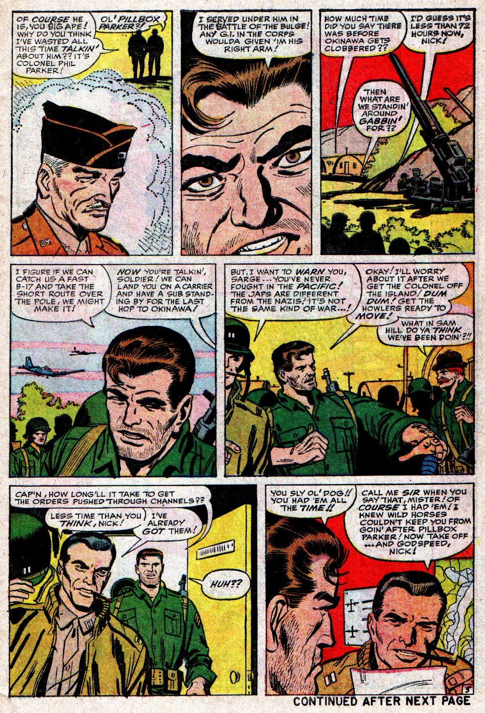 Read online Sgt. Fury comic -  Issue #10 - 7