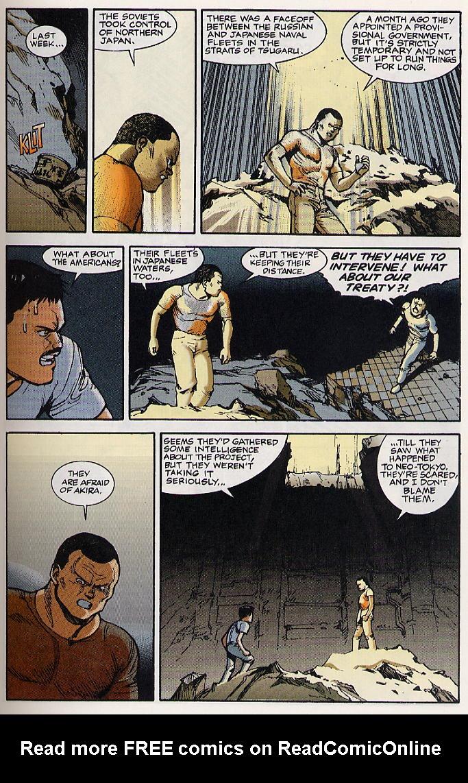 Read online Akira comic -  Issue #19 - 16