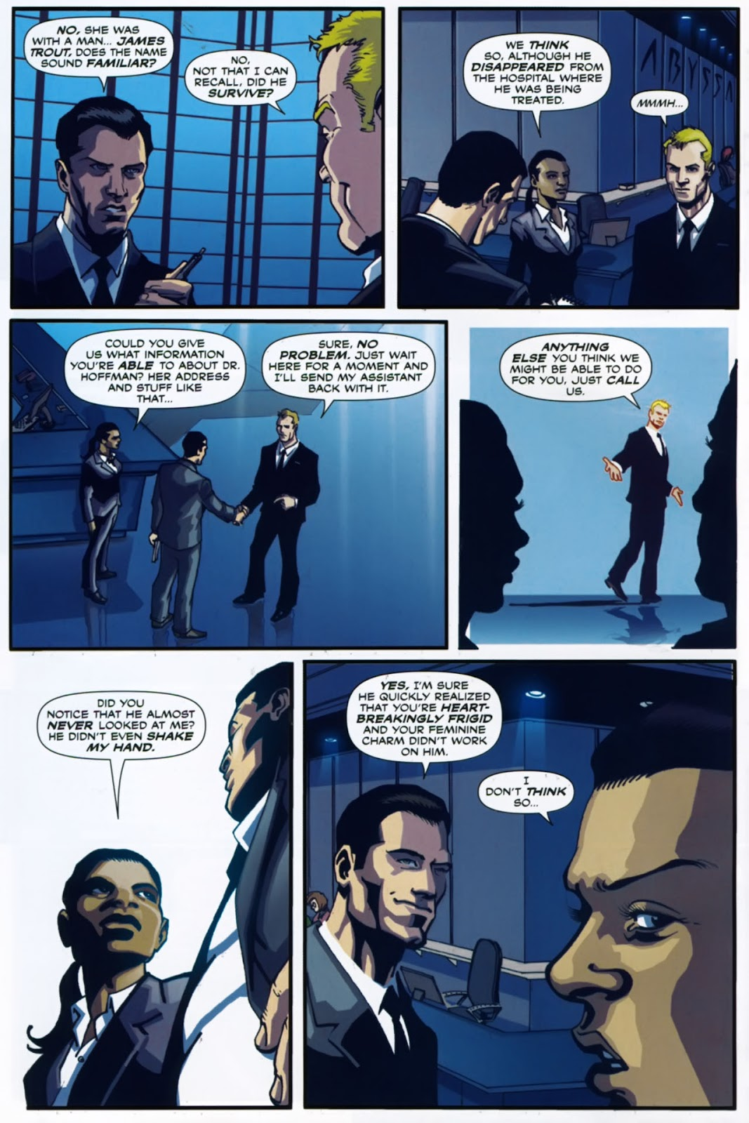 Read online Lazarus (2007) comic -  Issue #1 - 14