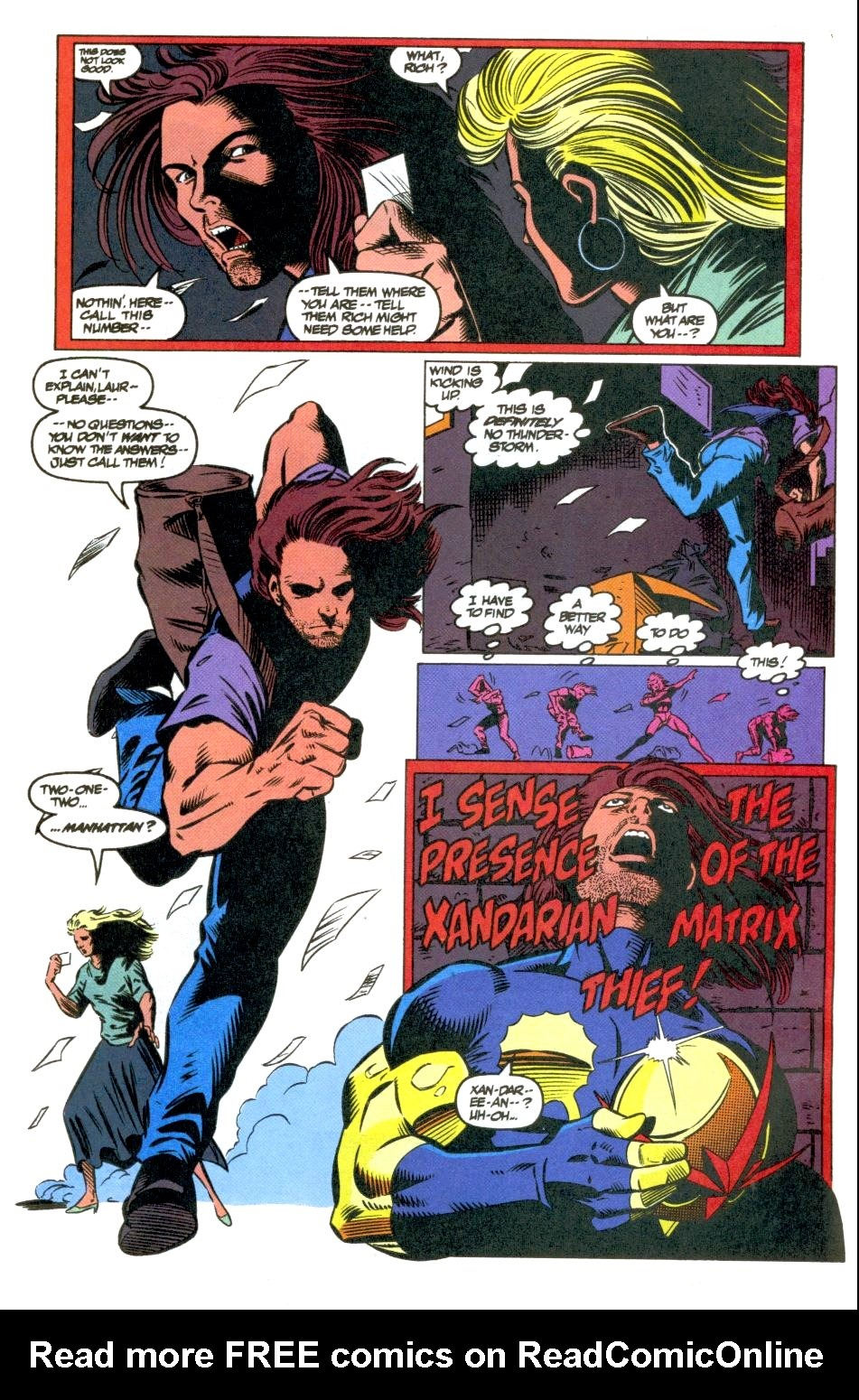 The New Warriors Issue #40 #44 - English 14