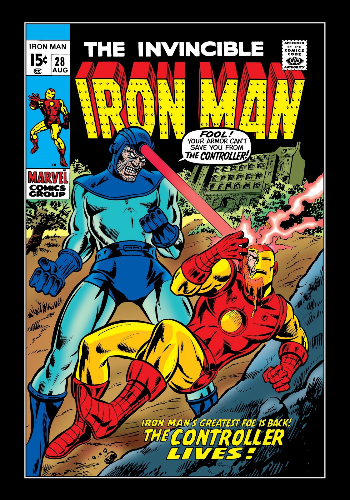 Read online Marvel Masterworks: The Invincible Iron Man comic -  Issue # TPB 7 (Part 1) - 49