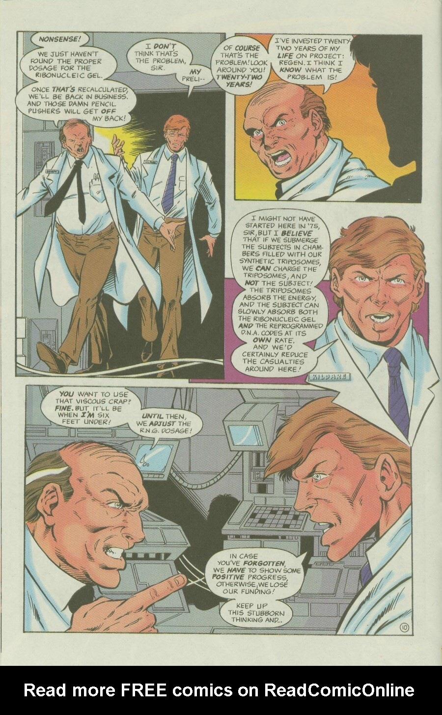Read online Ex-Mutants comic -  Issue #6 - 14