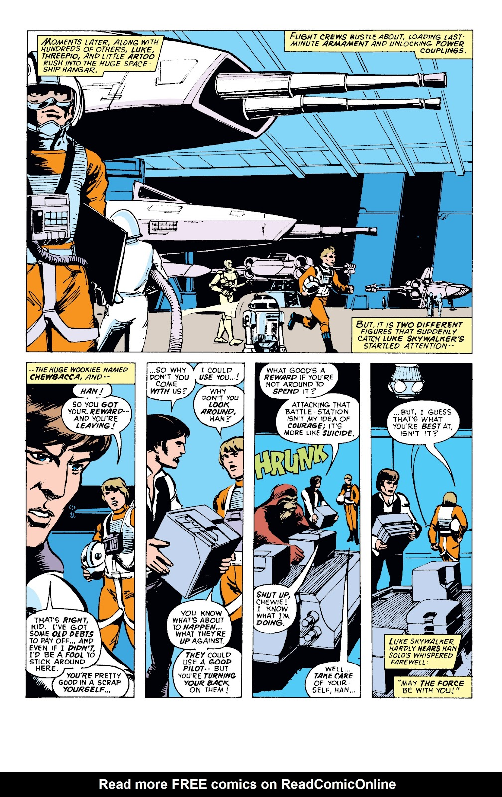 Read online Star Wars Legends: The Original Marvel Years - Epic Collection comic -  Issue # TPB 1 (Part 1) - 94