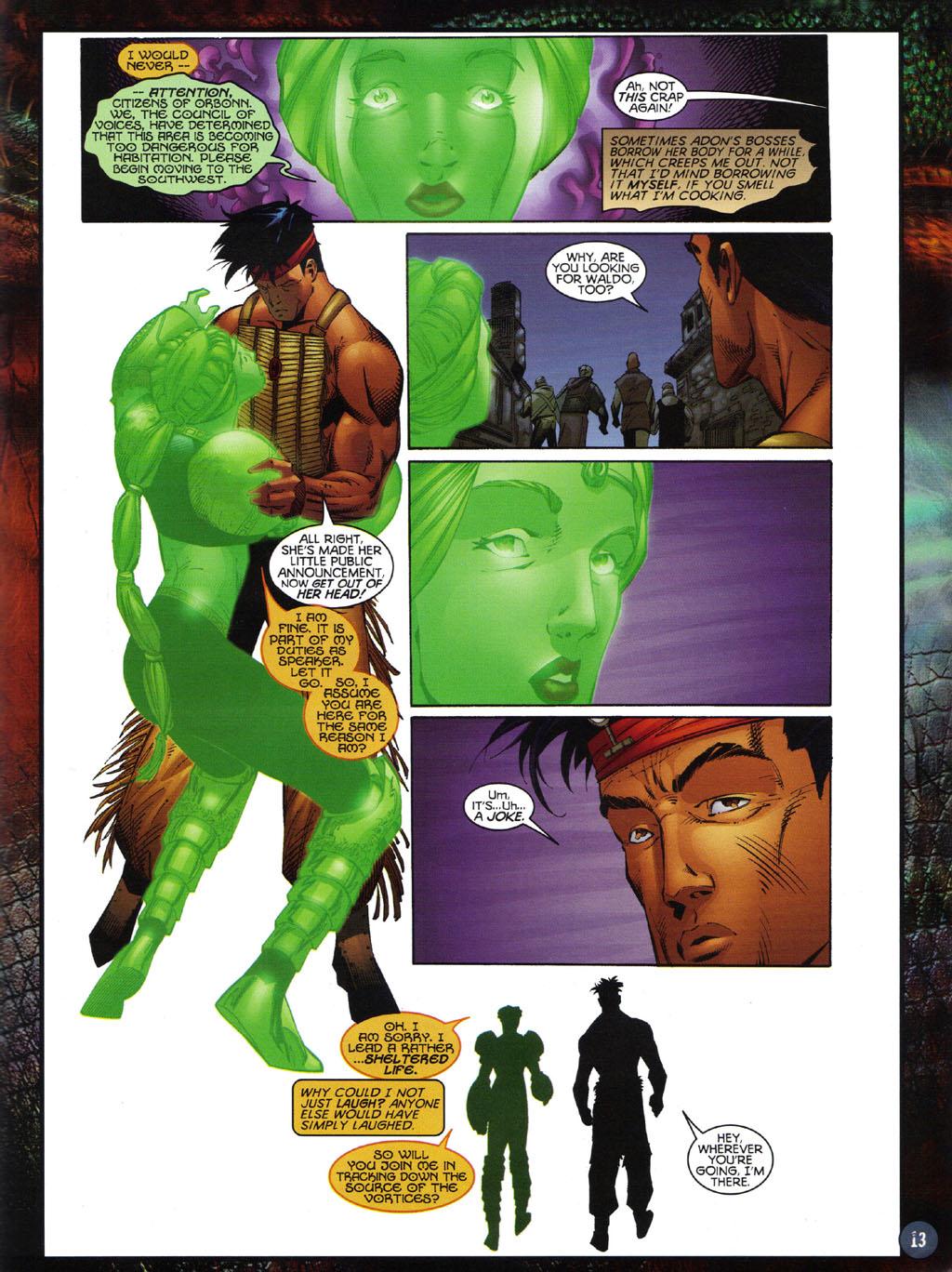 Read online Turok 2: Adon's Curse comic -  Issue # Full - 14
