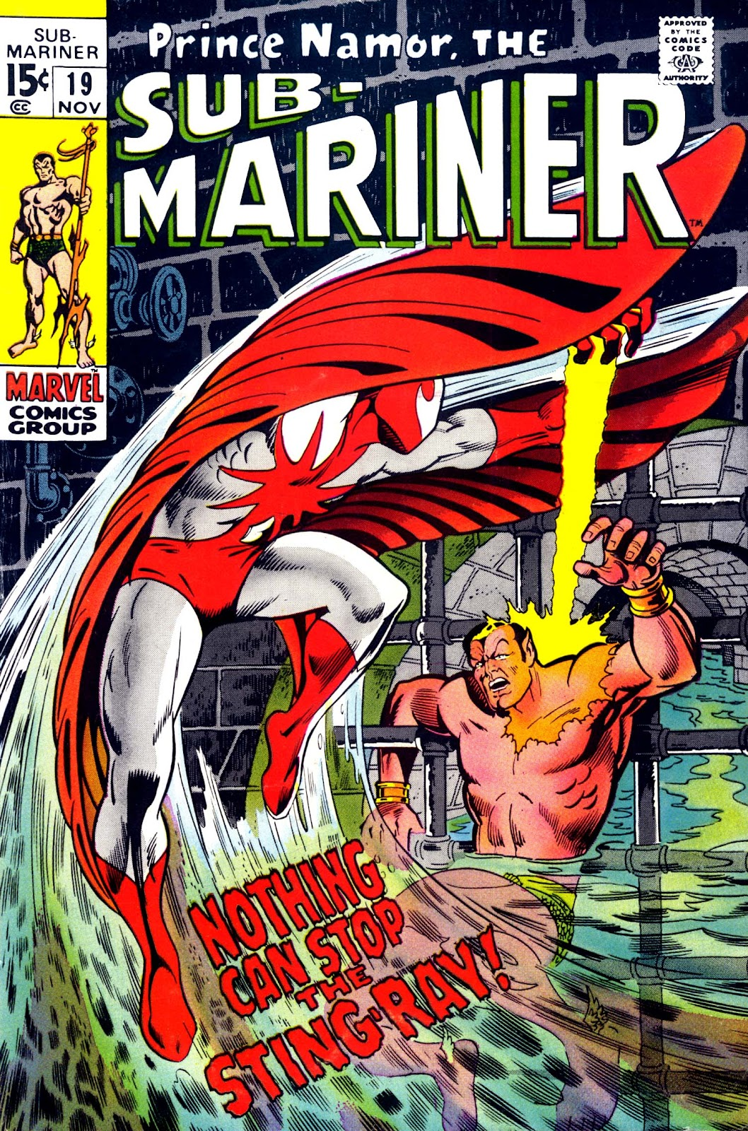 The Sub-Mariner 19 Page 1