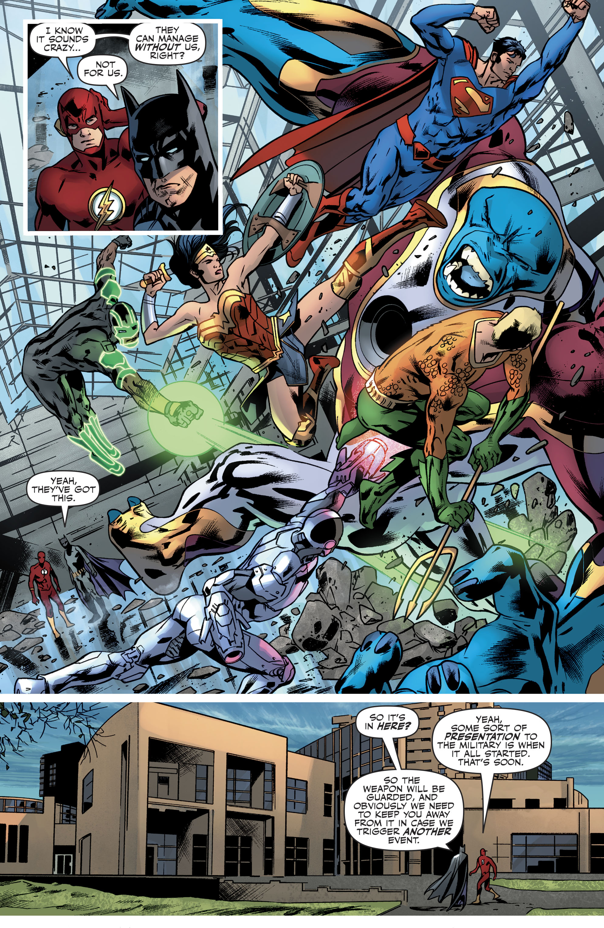 Read online Justice League (2016) comic -  Issue #21 - 9