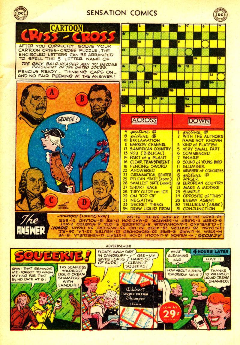 Read online Sensation (Mystery) Comics comic -  Issue #106 - 33