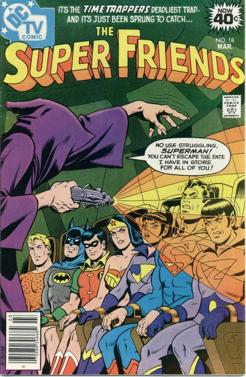 The Super Friends issue 18 - Page 1