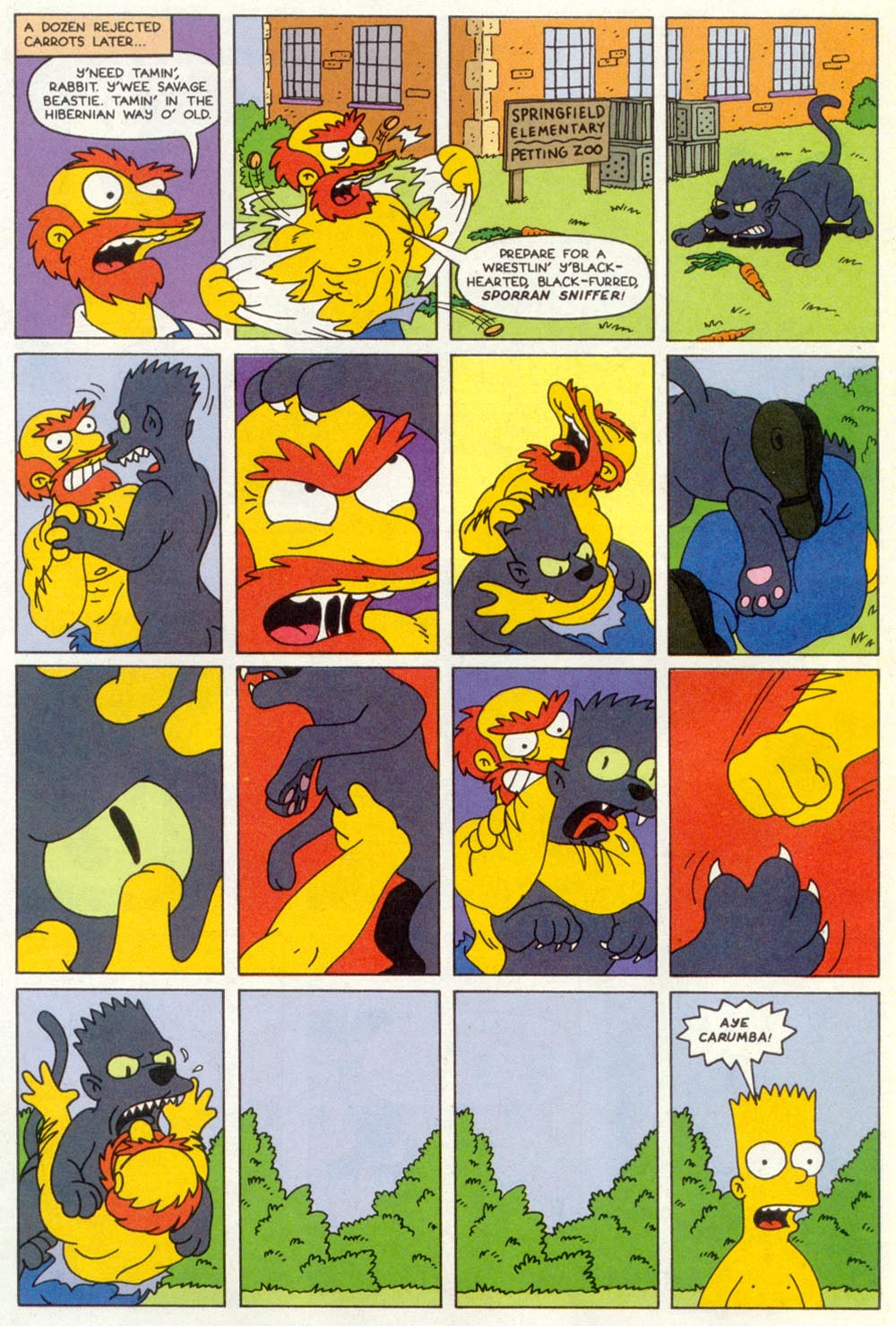 Read online Treehouse of Horror comic -  Issue #1 - 40