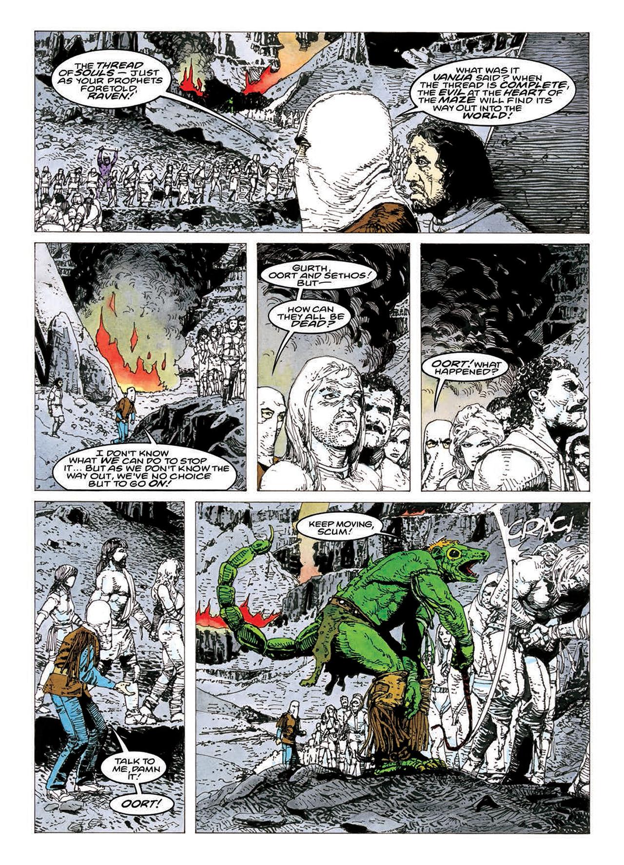 Read online Mazeworld comic -  Issue # TPB - 164