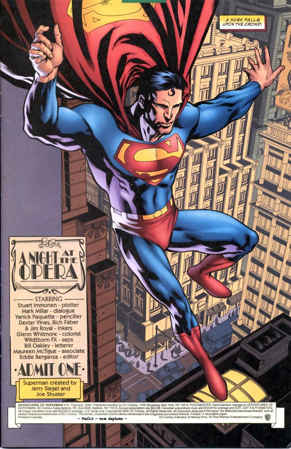 Read online Adventures of Superman (1987) comic -  Issue #575 - 2