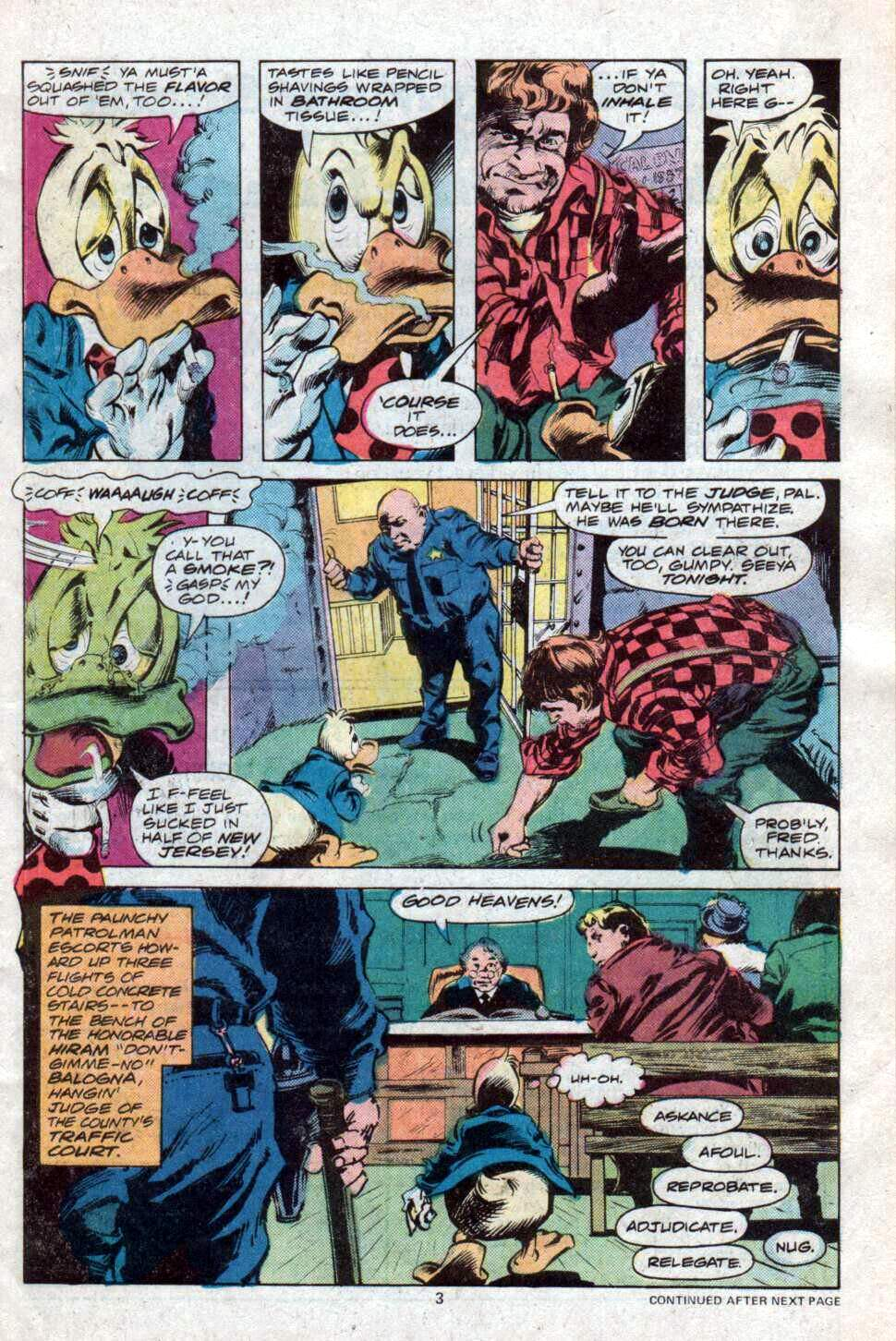 Howard the Duck (1976) Issue #12 #13 - English 4