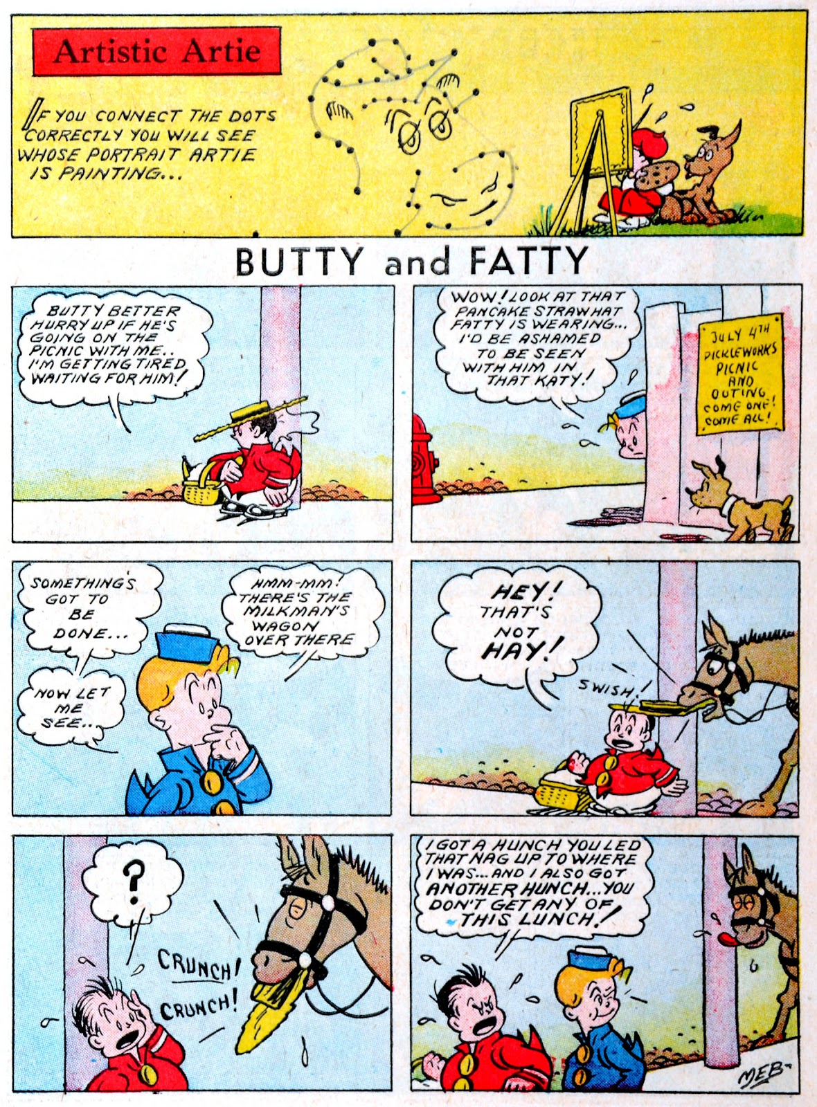 Read online Famous Funnies comic -  Issue #60 - 5
