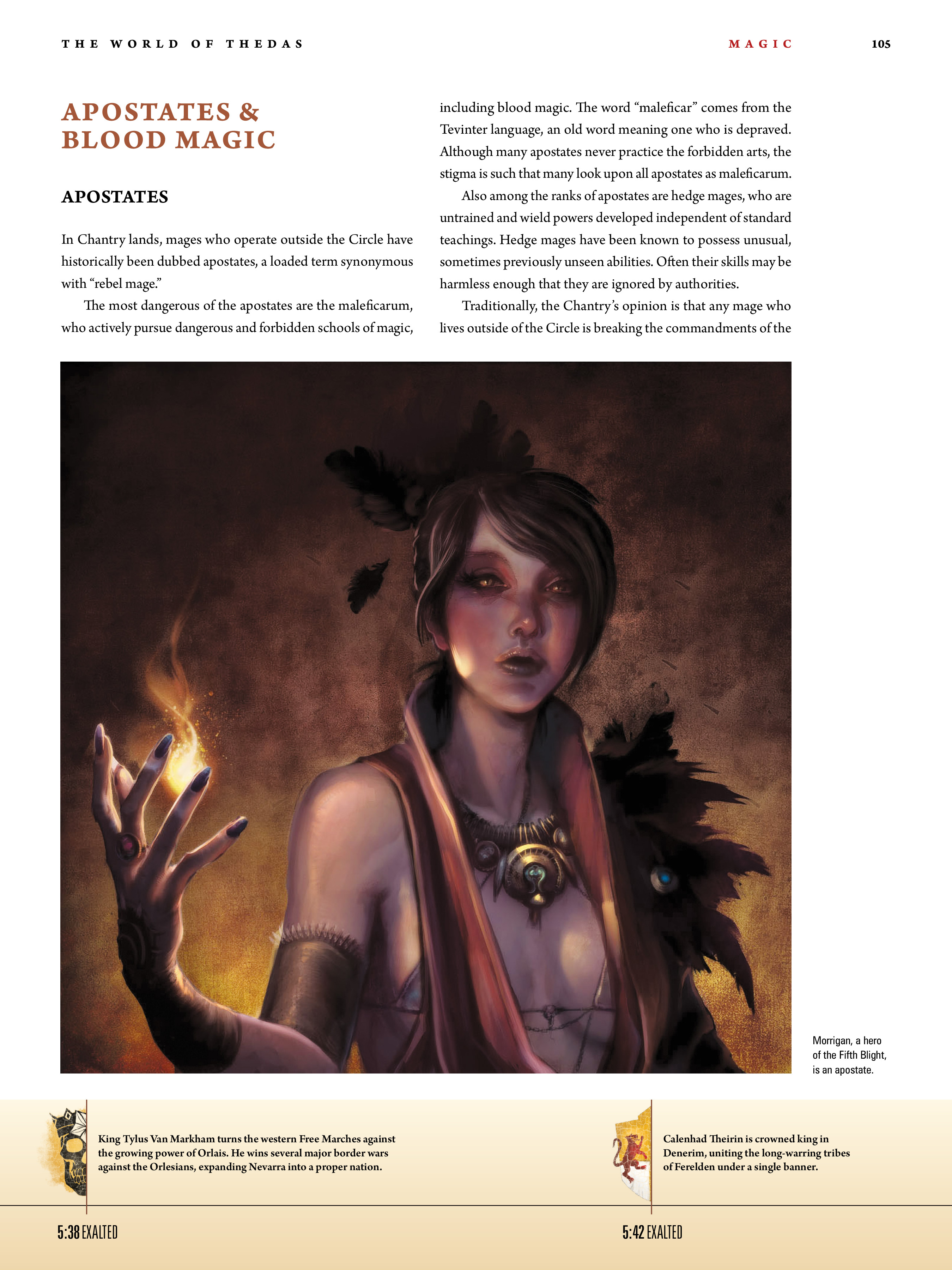 Read online Dragon Age: The World of Thedas comic -  Issue # TPB 1 - 85